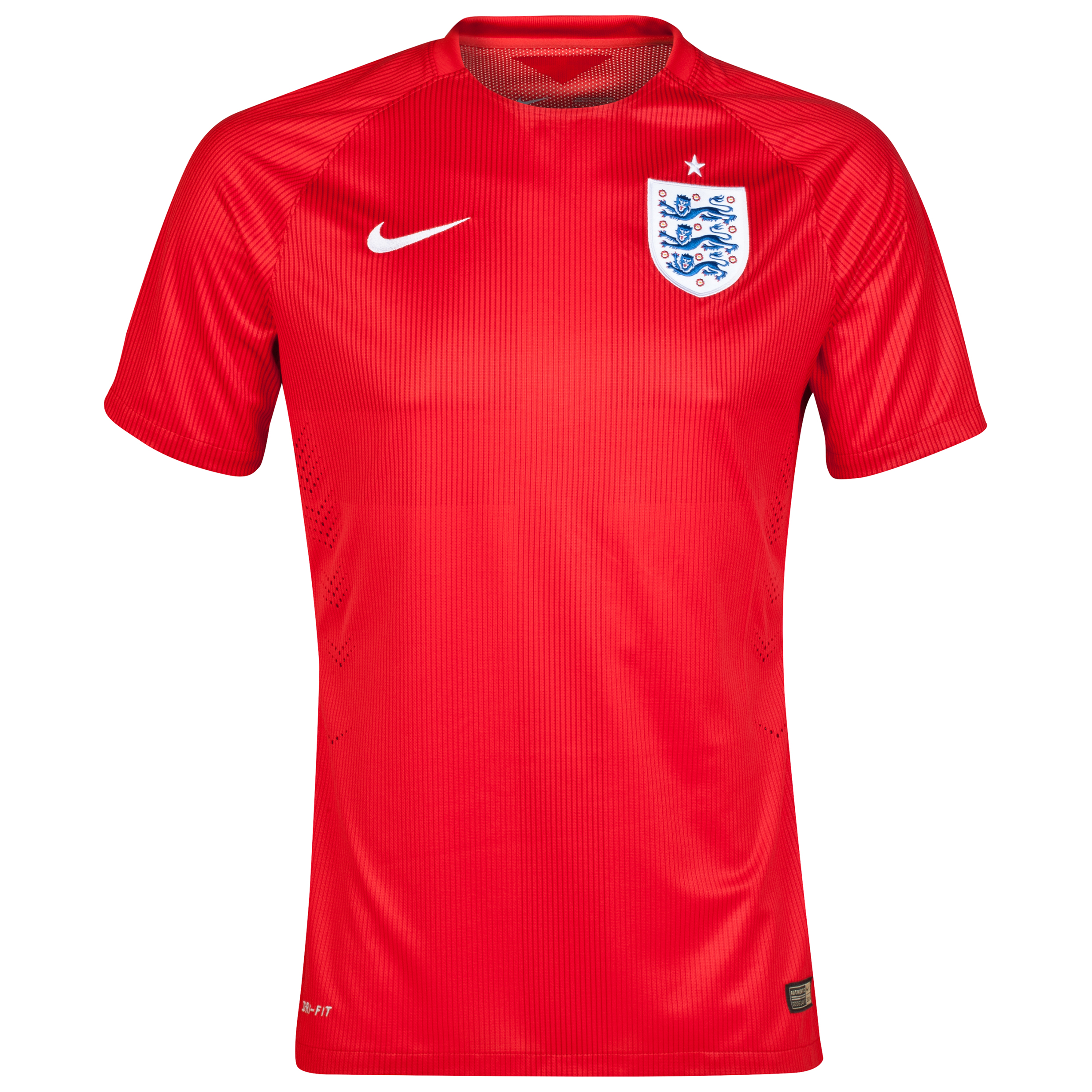 England Match Away Shirt 2014 Red