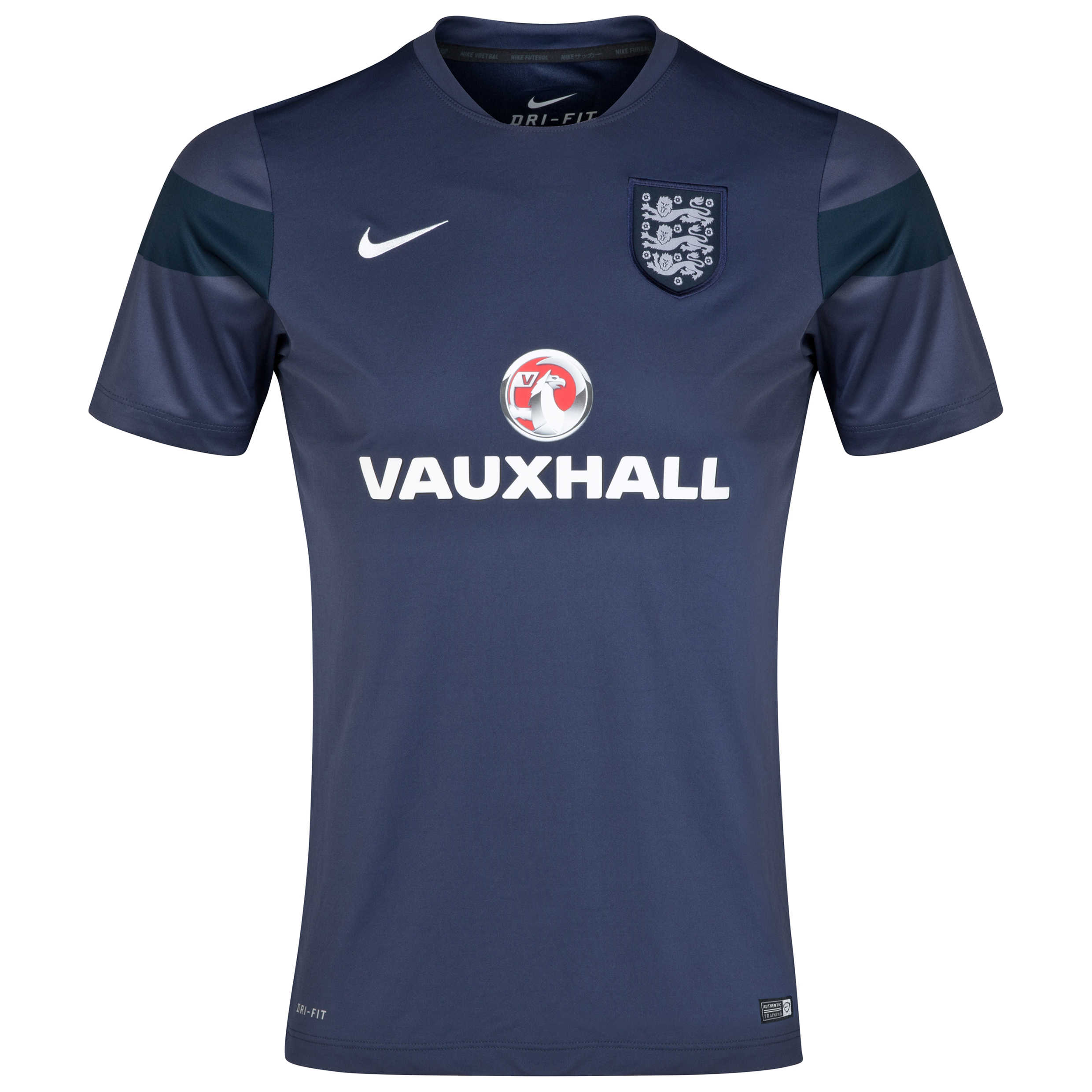 England Squad Short Sleeve Pre Match Top - Kids