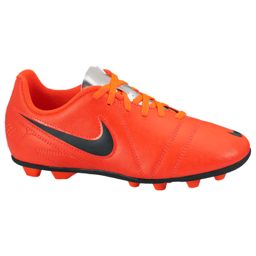 Nike CTR360 Enganche III Firm Ground Football Boots Kids Orange