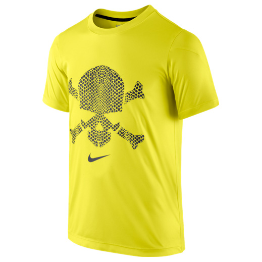 Nike GPX Hypervenom SS Top 2 Boys Yellow