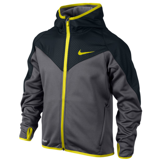 Nike GPX FZ Poly Hoody Boys Black