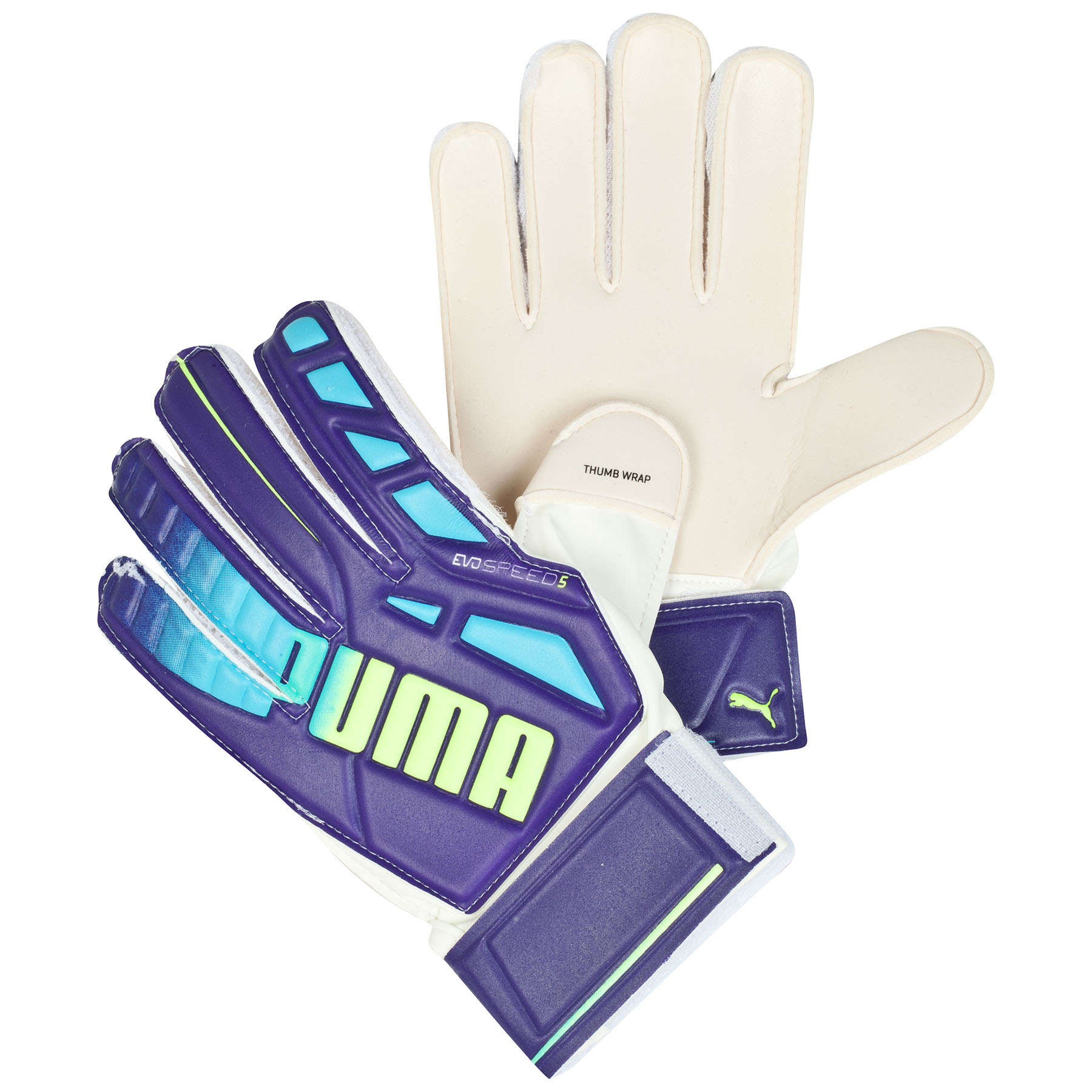 Puma evoSPEED 5.3 Goalkeeper Glove - Kids Purple