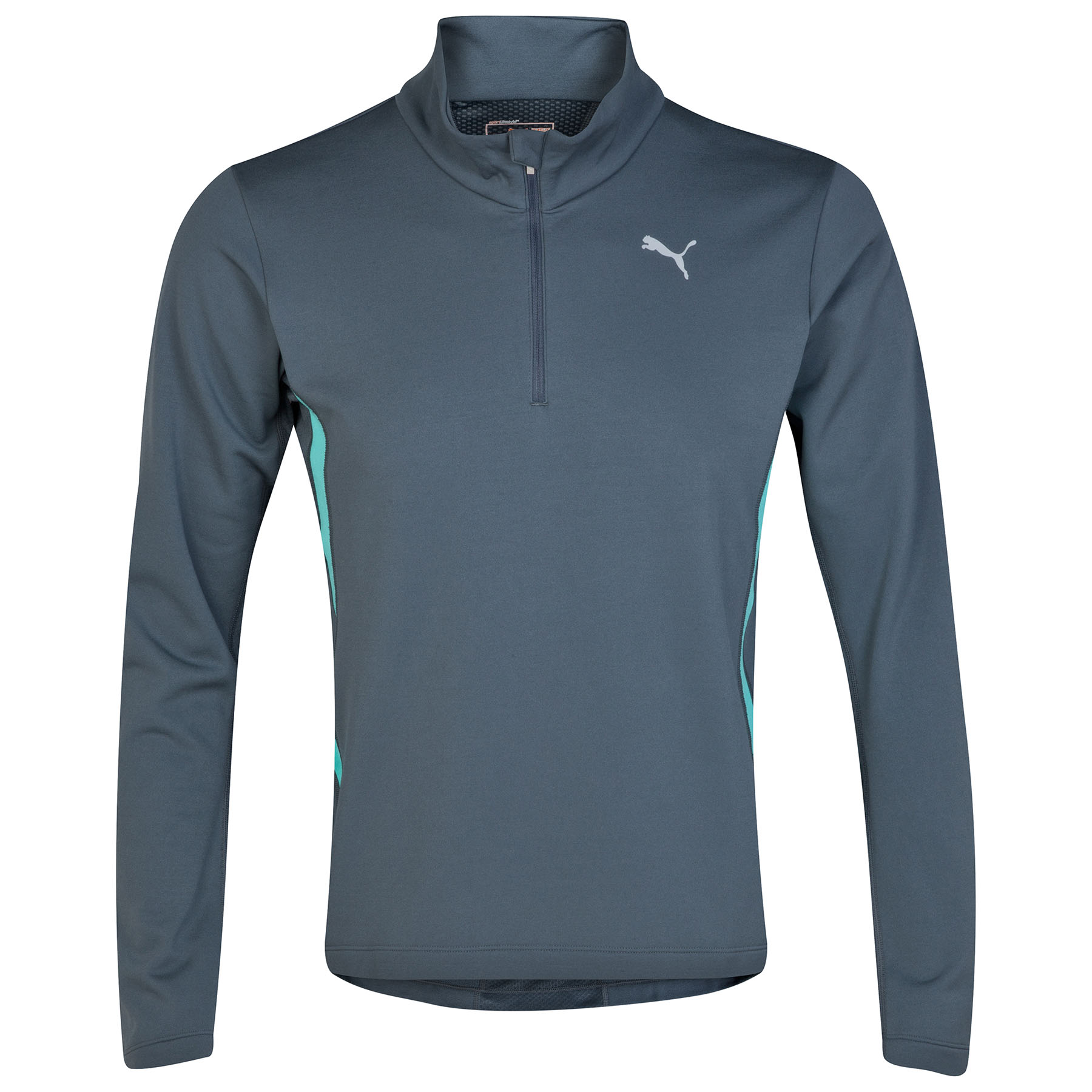 Puma Half Zipped T-Shirt - Long Sleeve