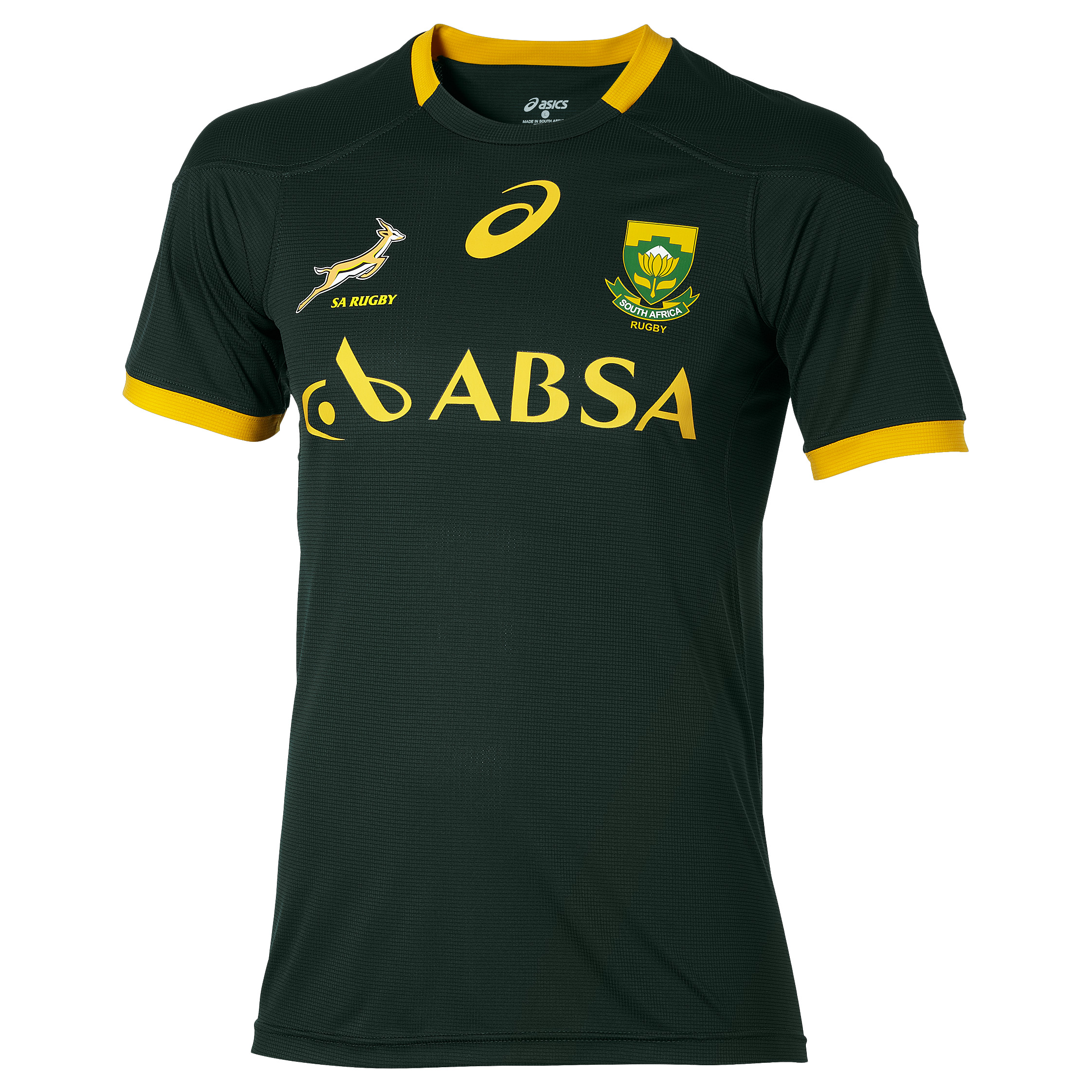 South Africa Springboks Classic Fan T-Shirt Green