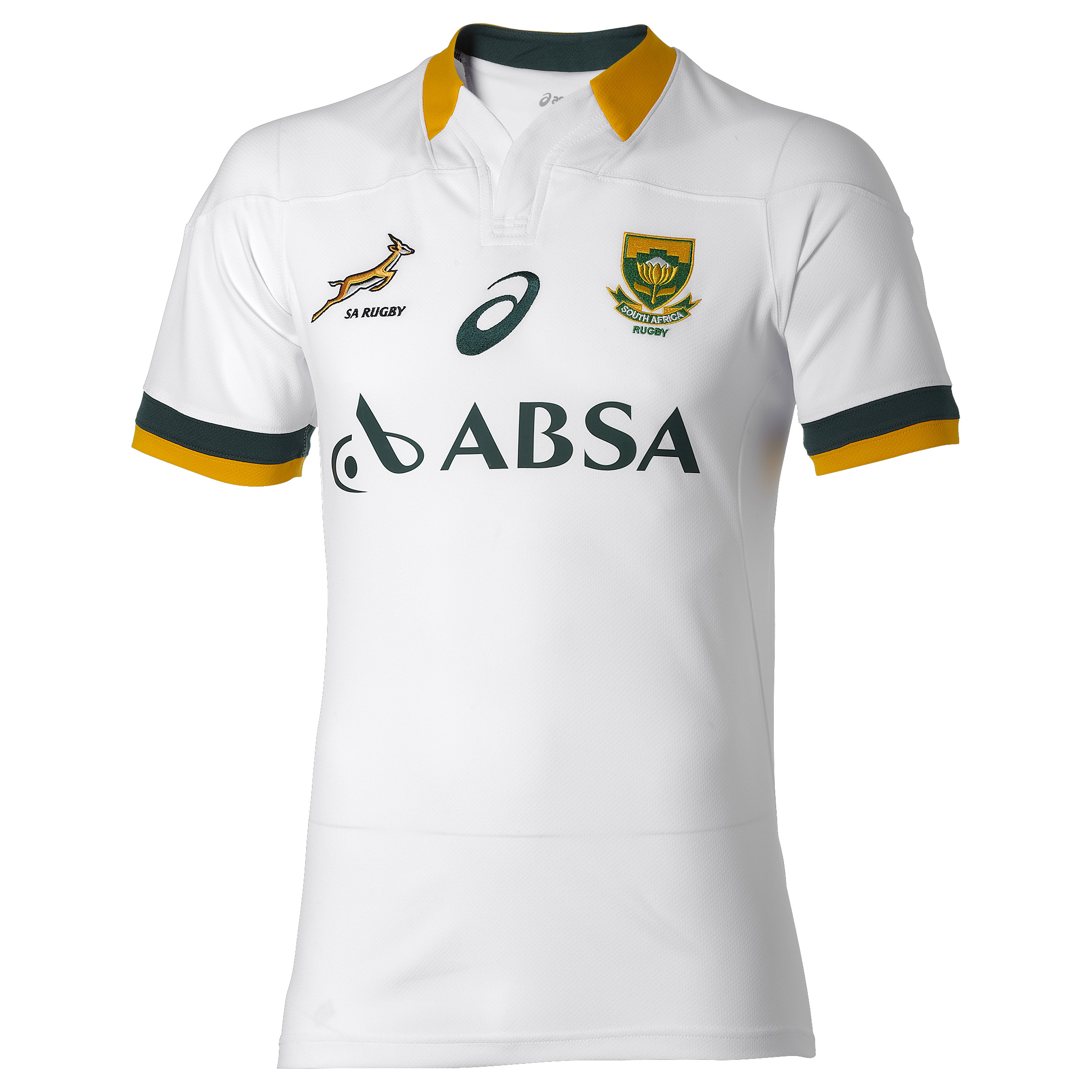 South Africa Springboks Away Replica Match Jersey 2014/15 White