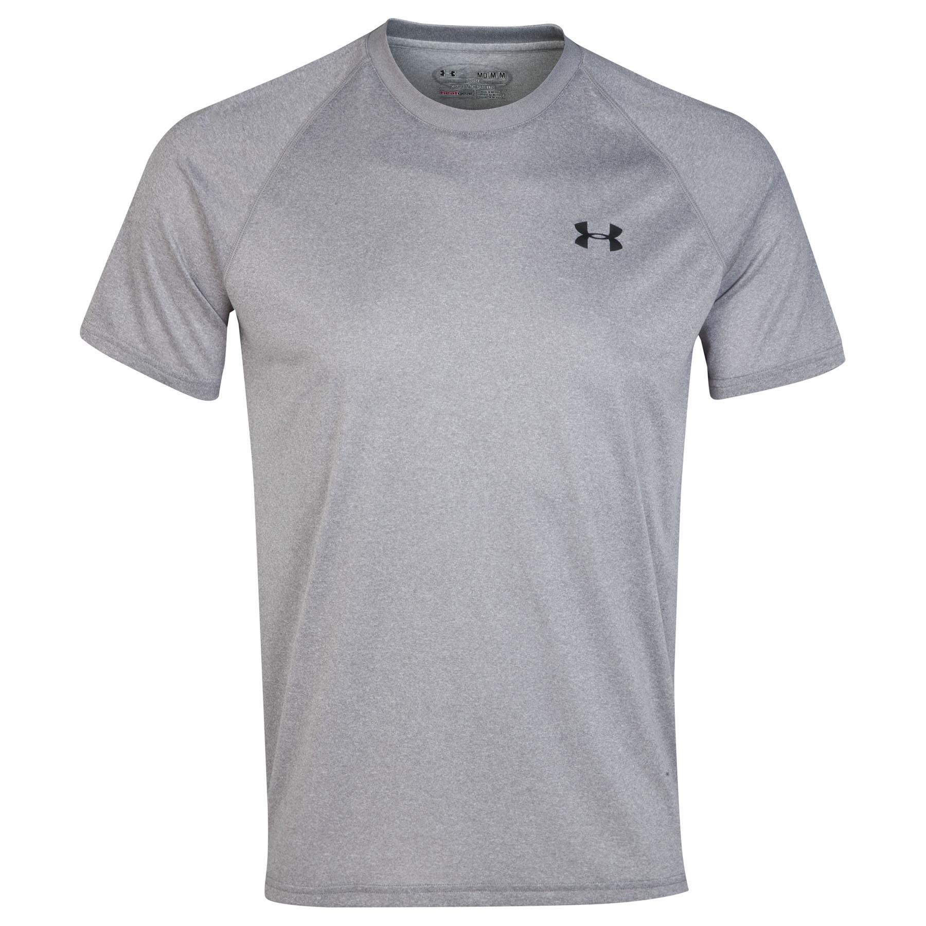 Under Armour Tech T-Shirt Charcoal
