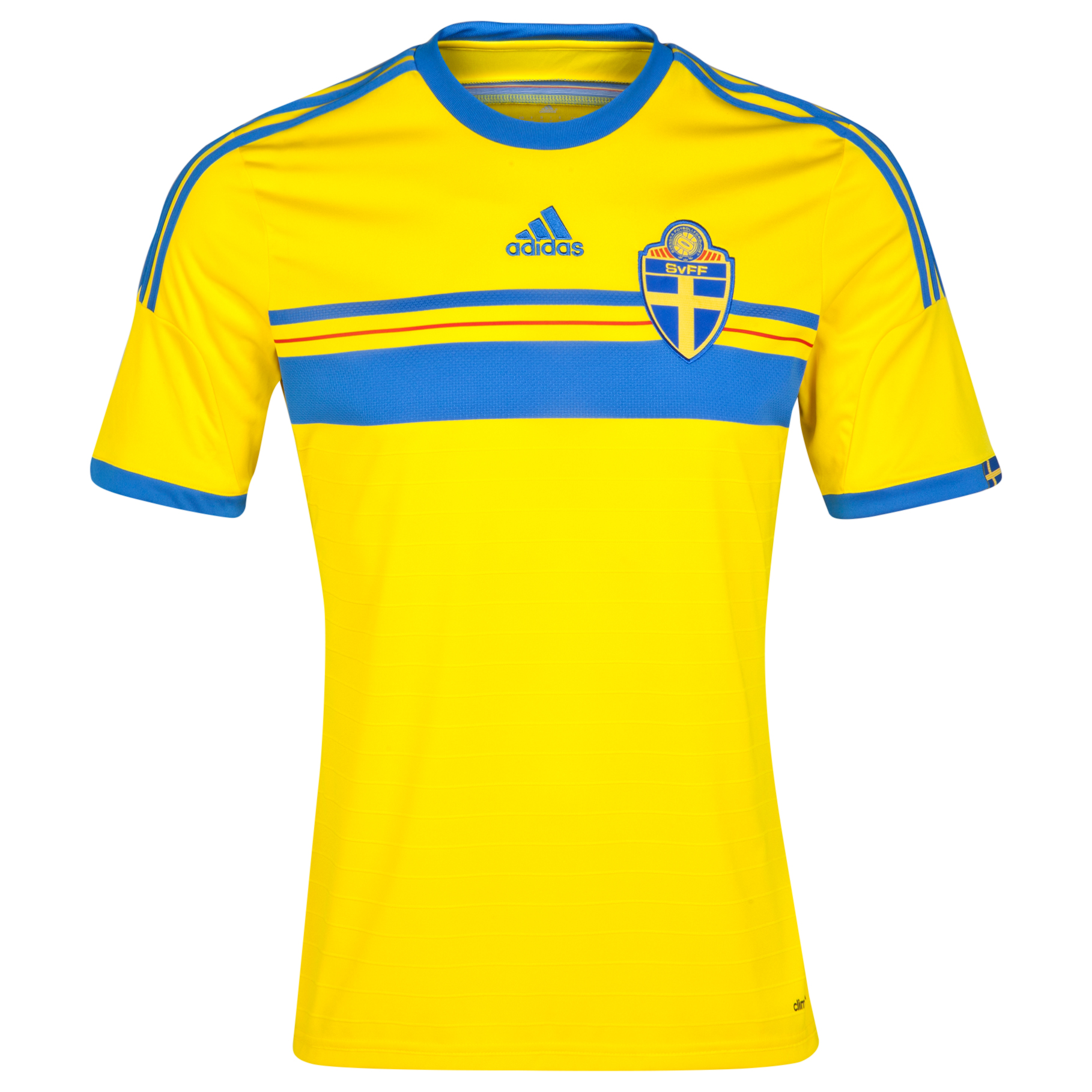Sweden Home Shirt 2013/14 Yellow