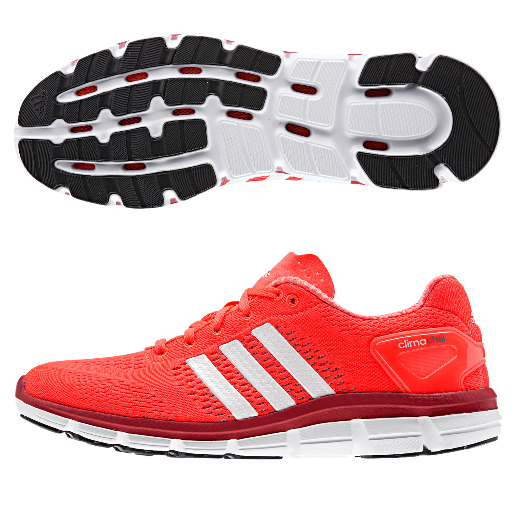Adidas Climachill Ride Trainers Red