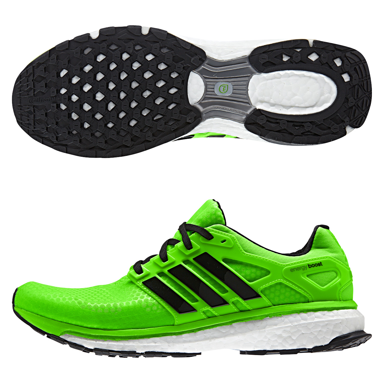 Adidas Energy Boost 2 ATR Trainers Lt Green