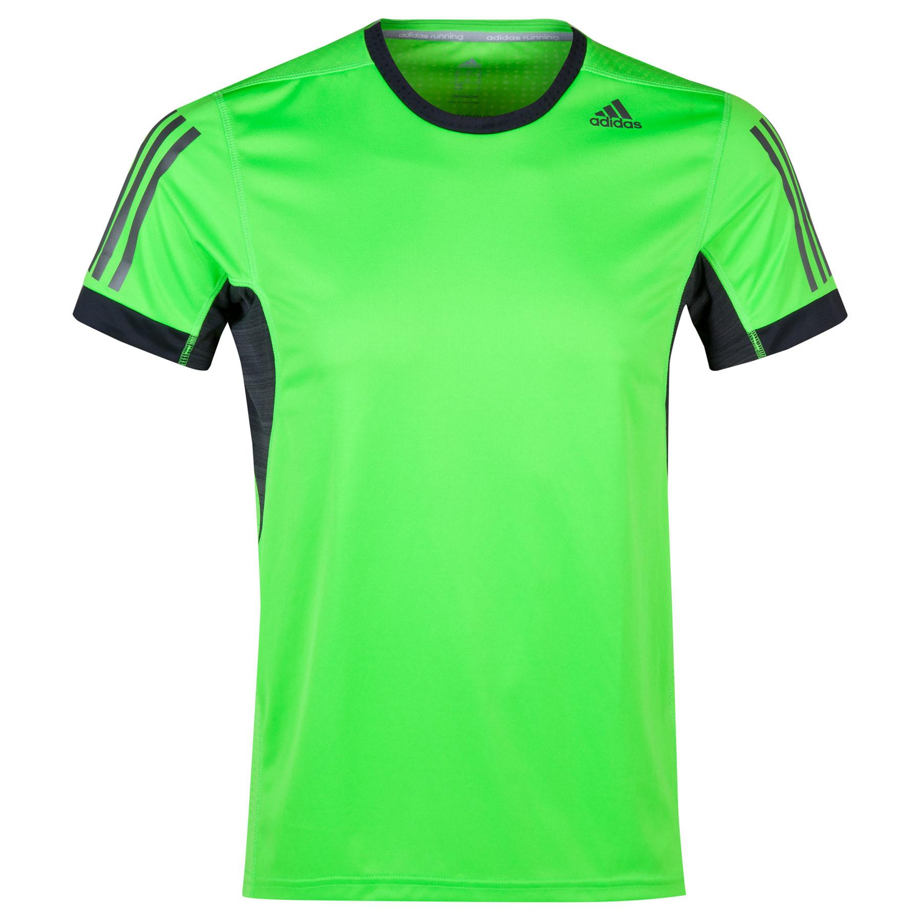 Adidas Supernova TShirt Lt Green