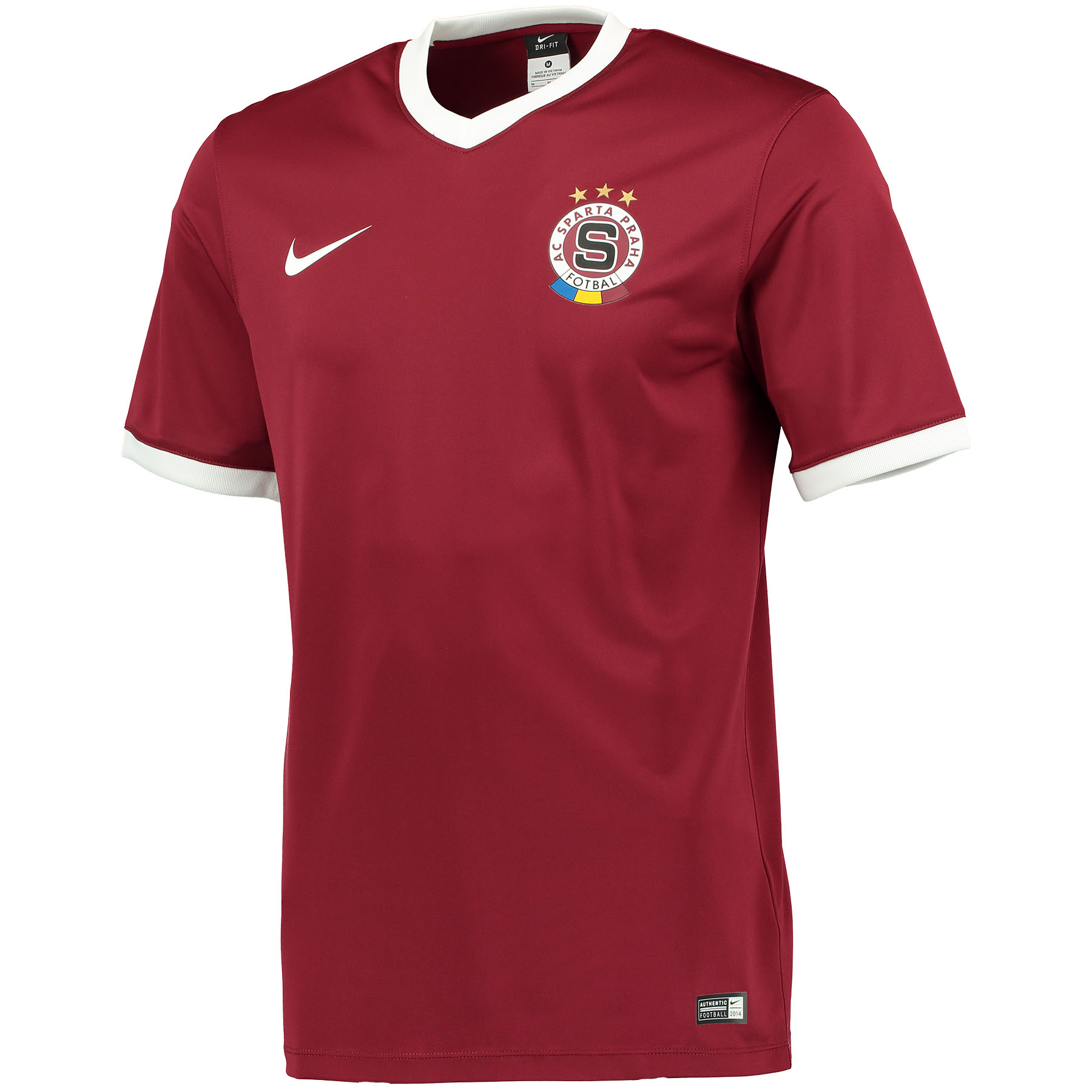 Sparta Prague Home Shirt 2014/15 Red