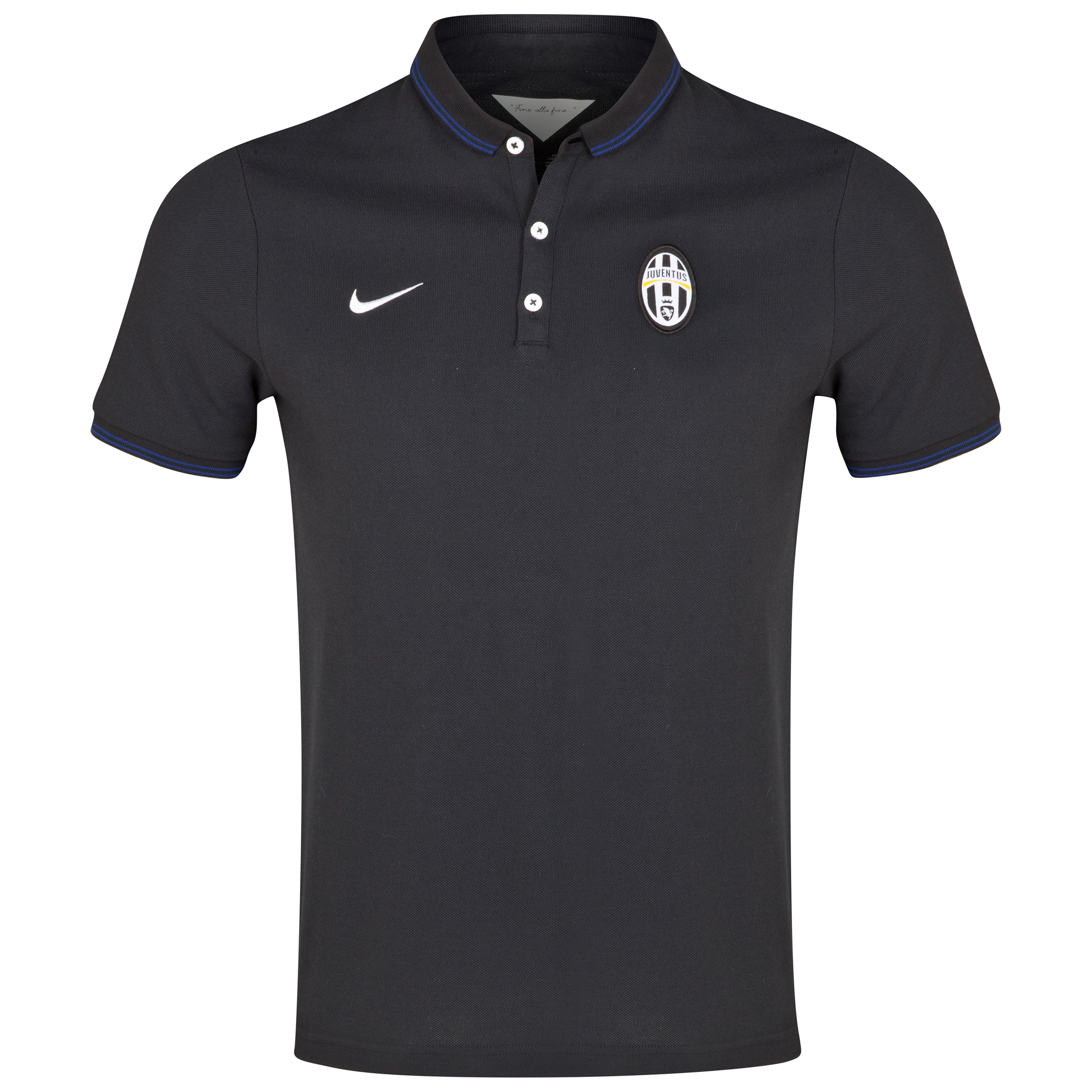 Juventus League Authentic Polo Black