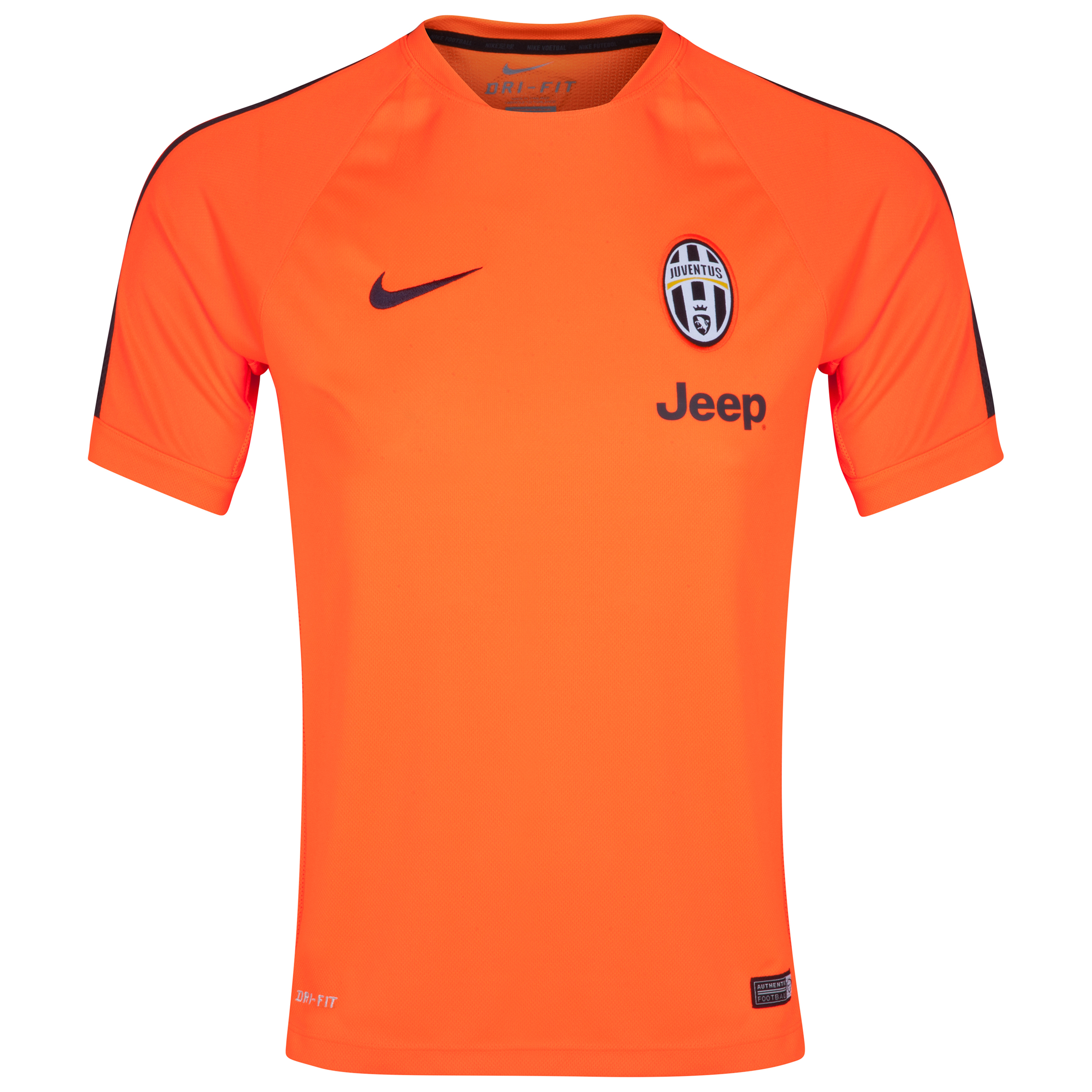 Juventus Squad Short Sleeve Training Top Red