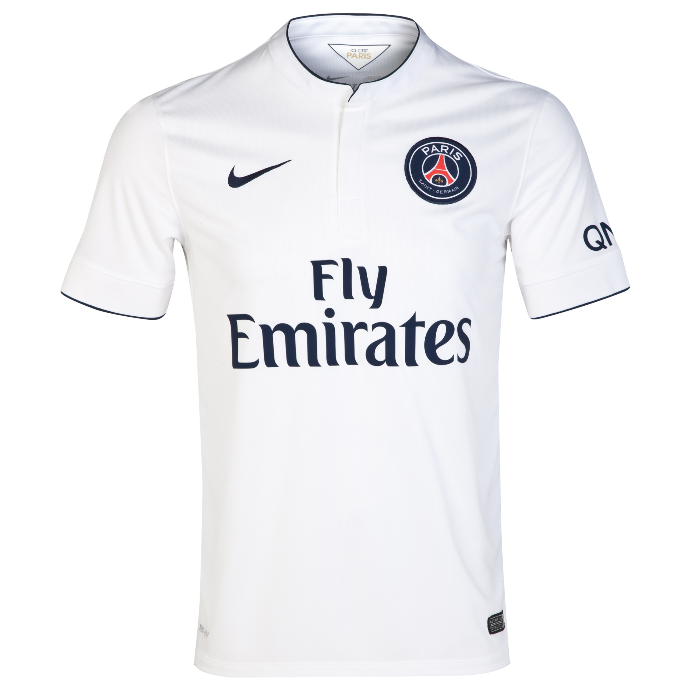 Paris Saint-Germain Away Shirt 2014/15 White