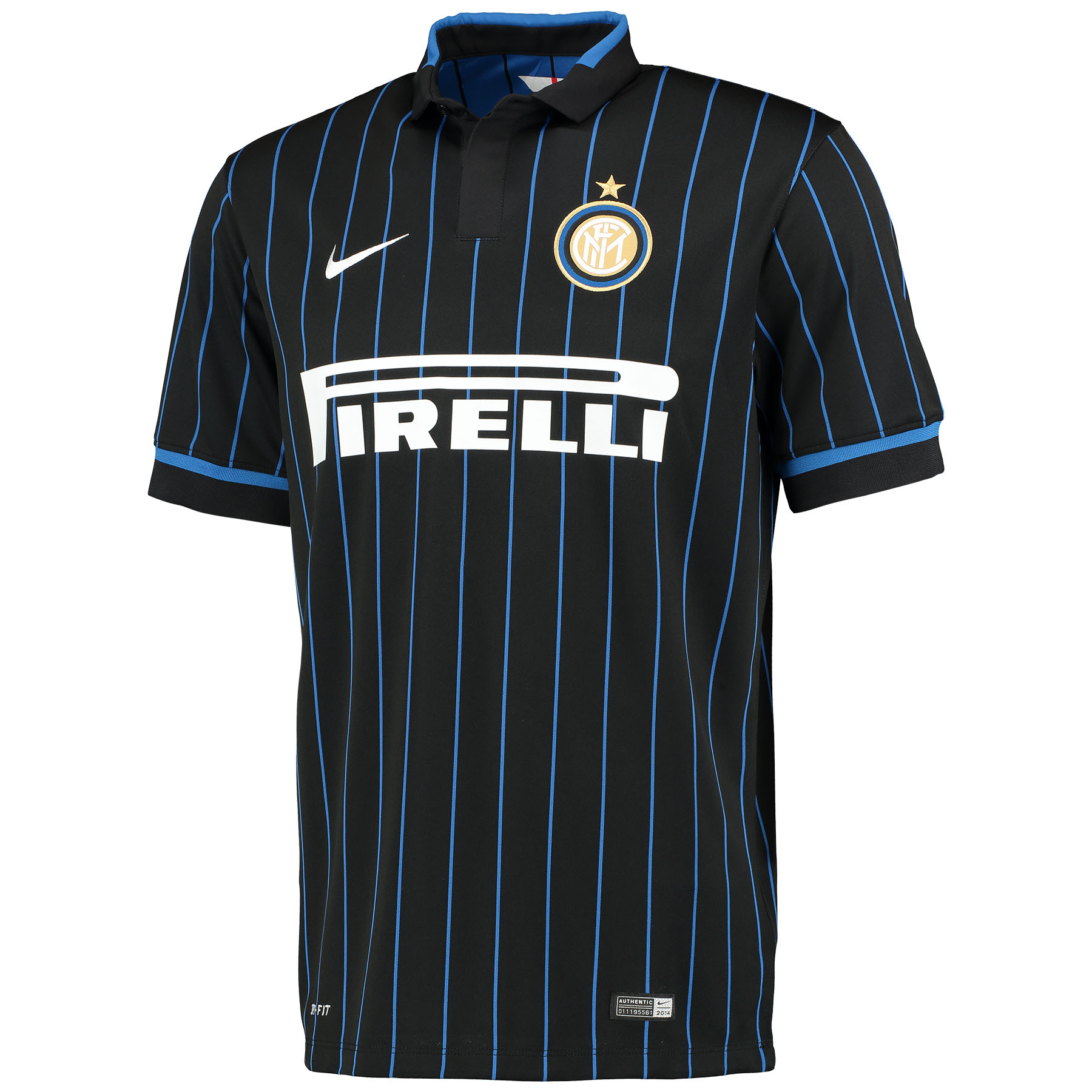 Inter Milan Home Shirt 2014/15 Black