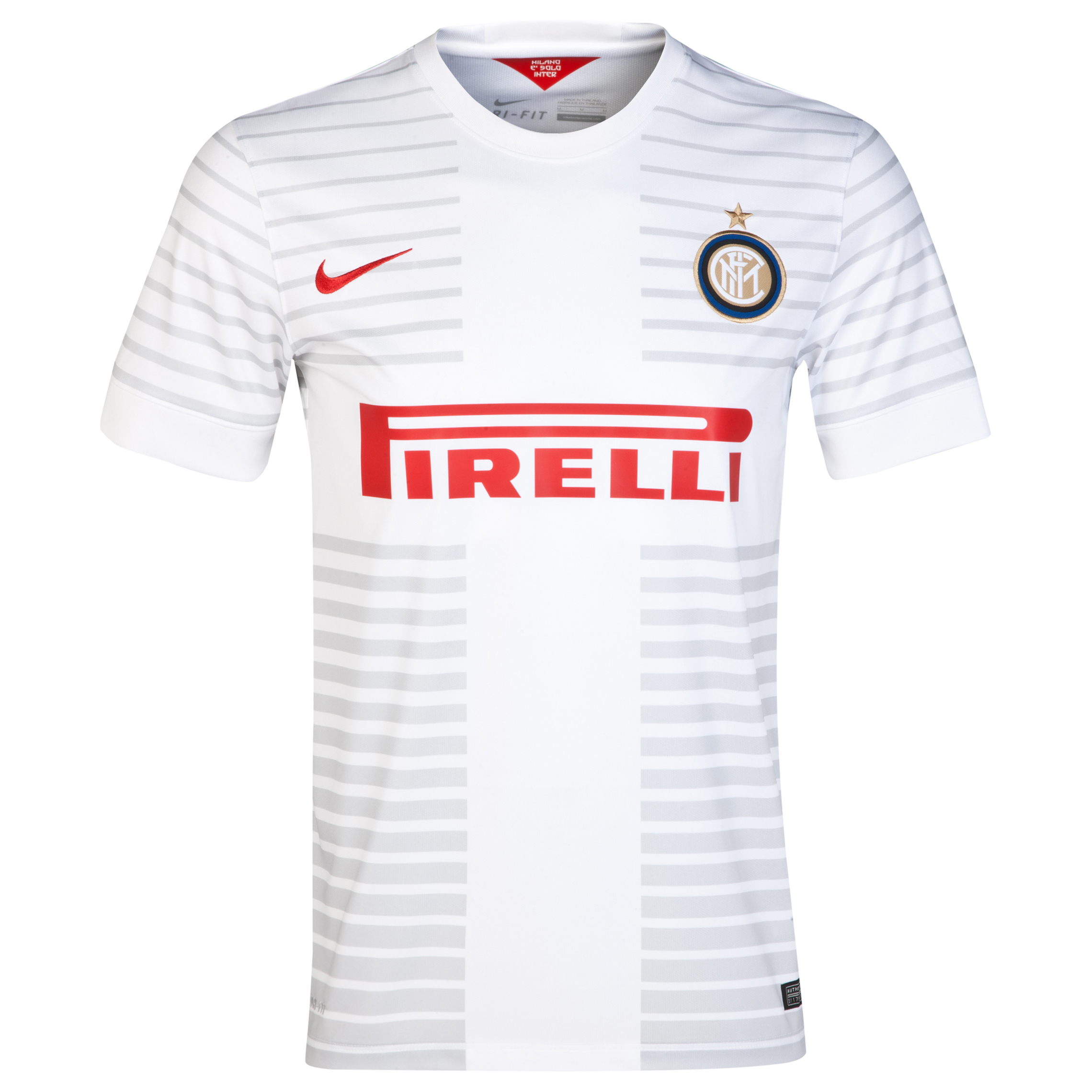 Inter Milan Away Shirt 2014/15 White