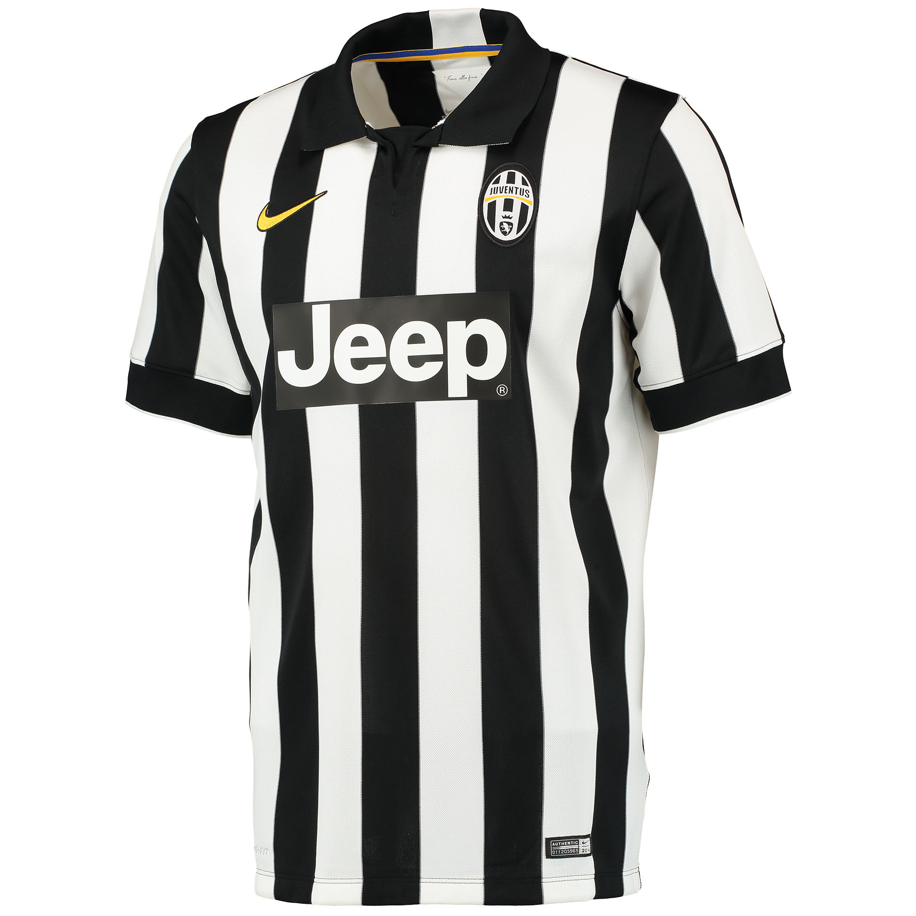 Juventus Home Shirt 2014/15 White