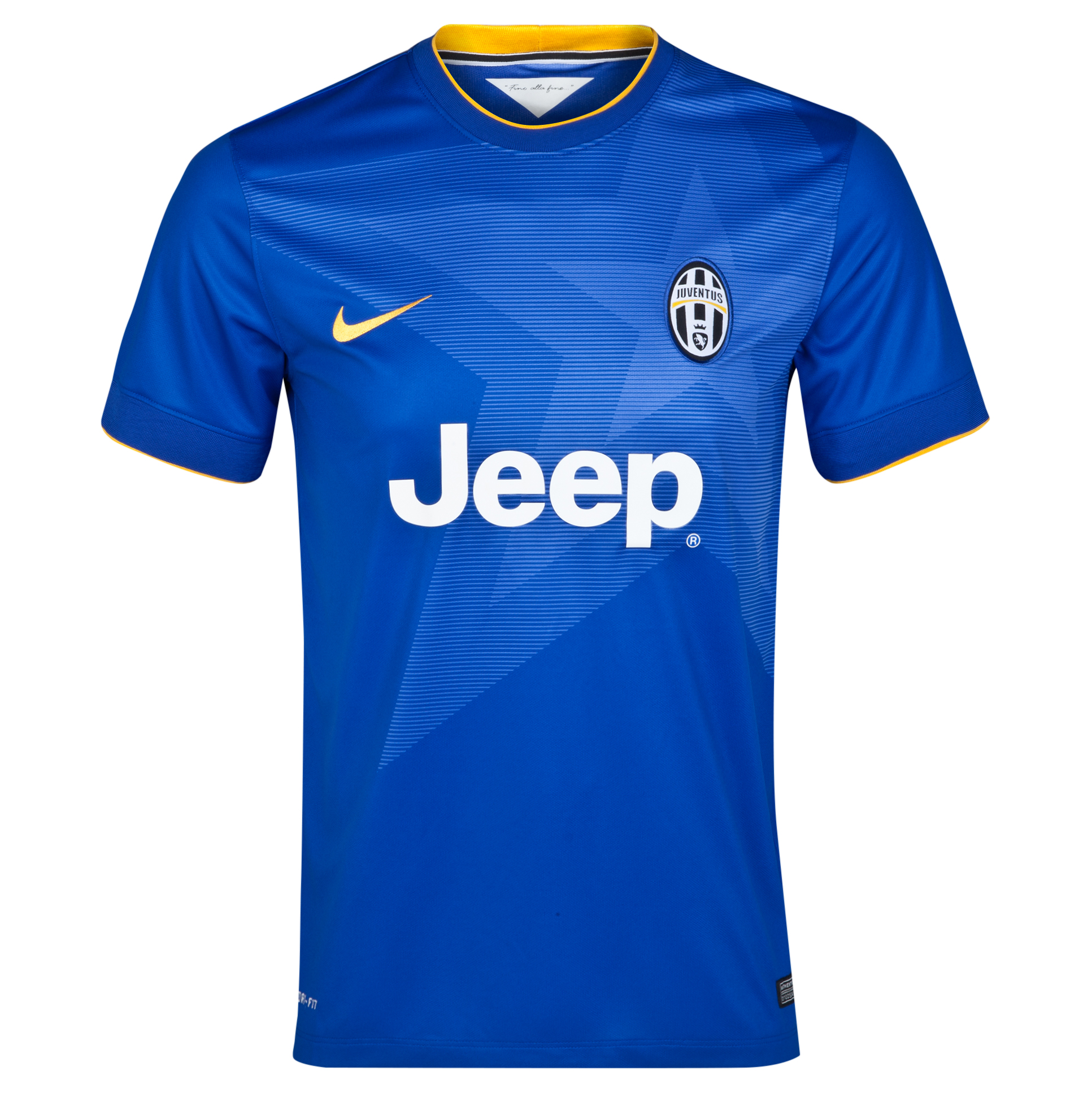 Juventus Away Shirt 2014/15 Blue