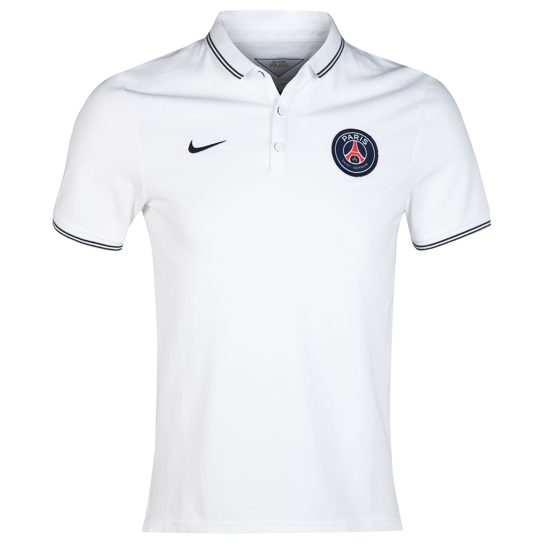 Paris Saint-Germain League Authentic Polo White