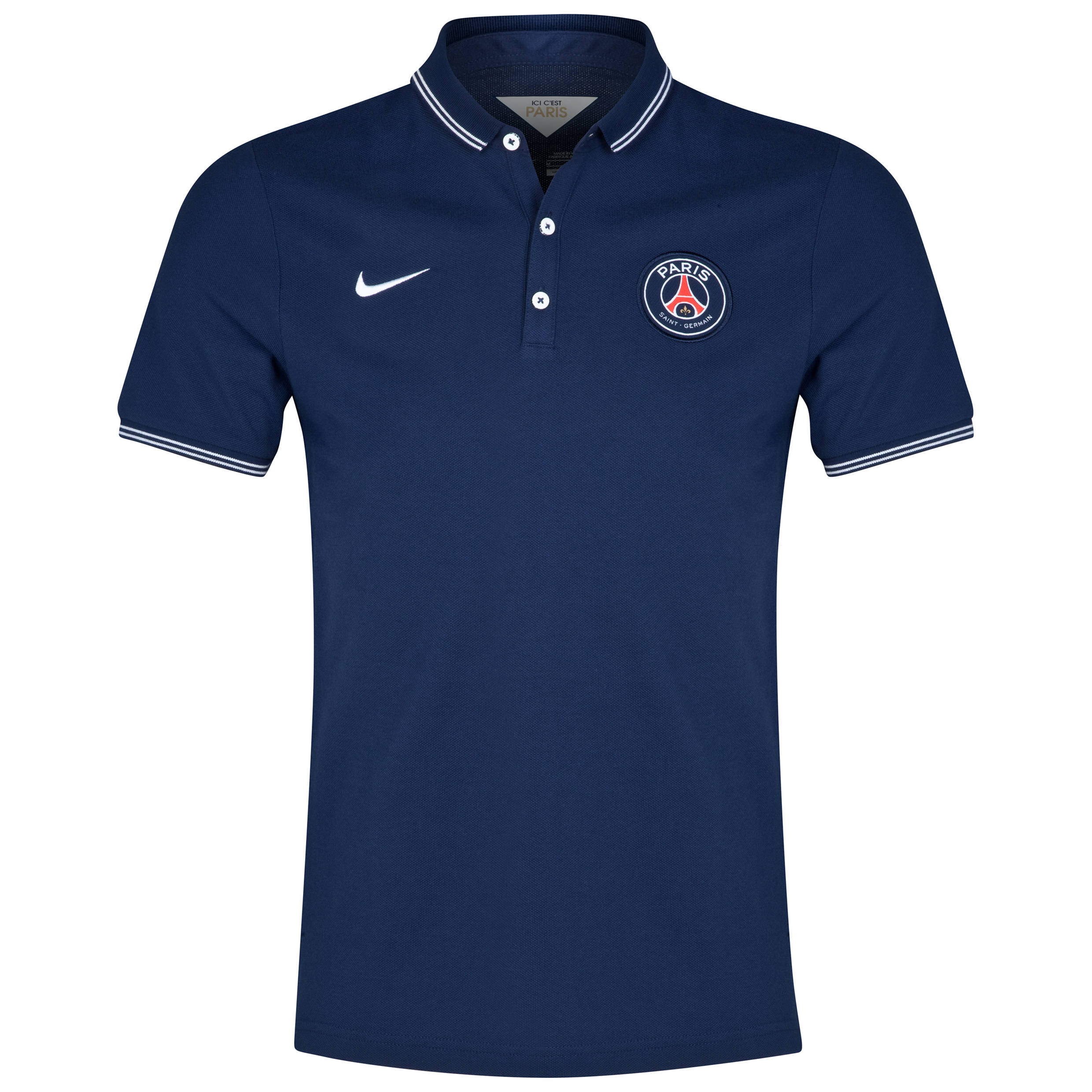 Paris Saint-Germain League Authentic Polo Navy
