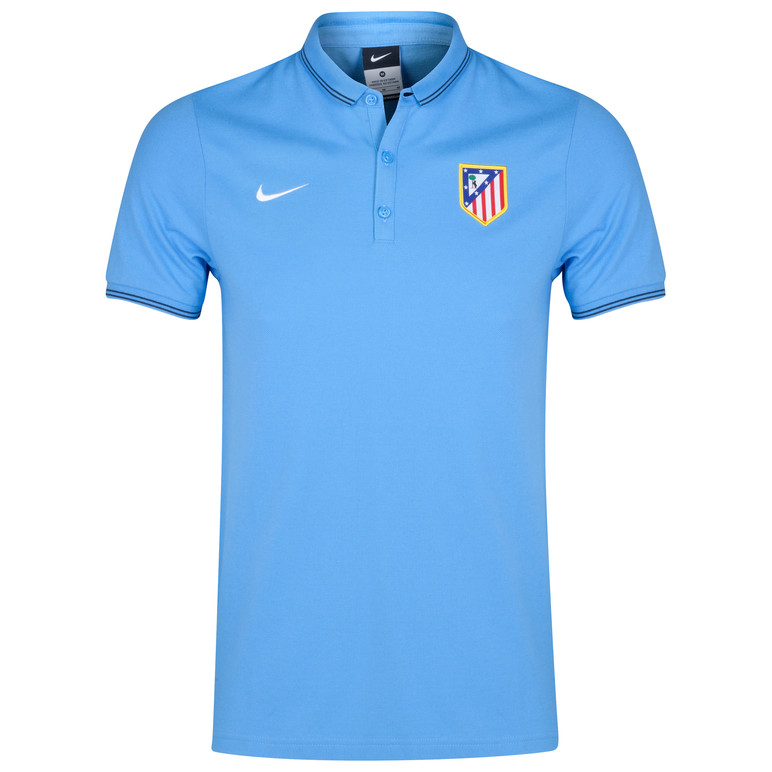 Atletico Madrid League Authentic Polo Blue