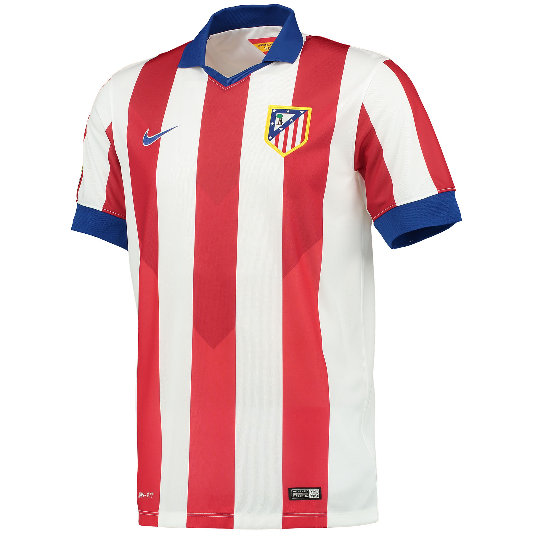 Atletico Madrid Home Shirt 2014/15 Red