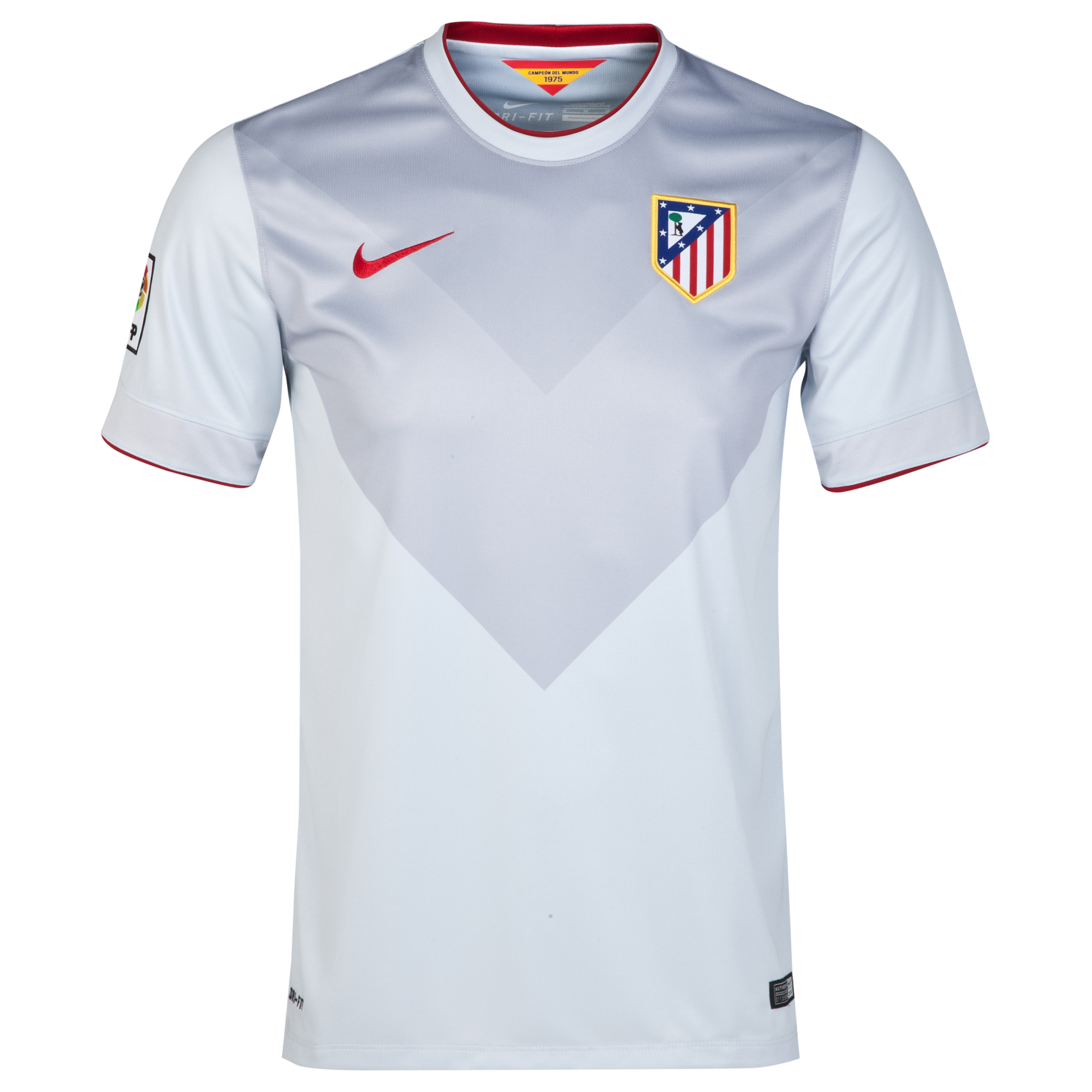 Atletico Madrid Away Shirt 2014/15 Grey