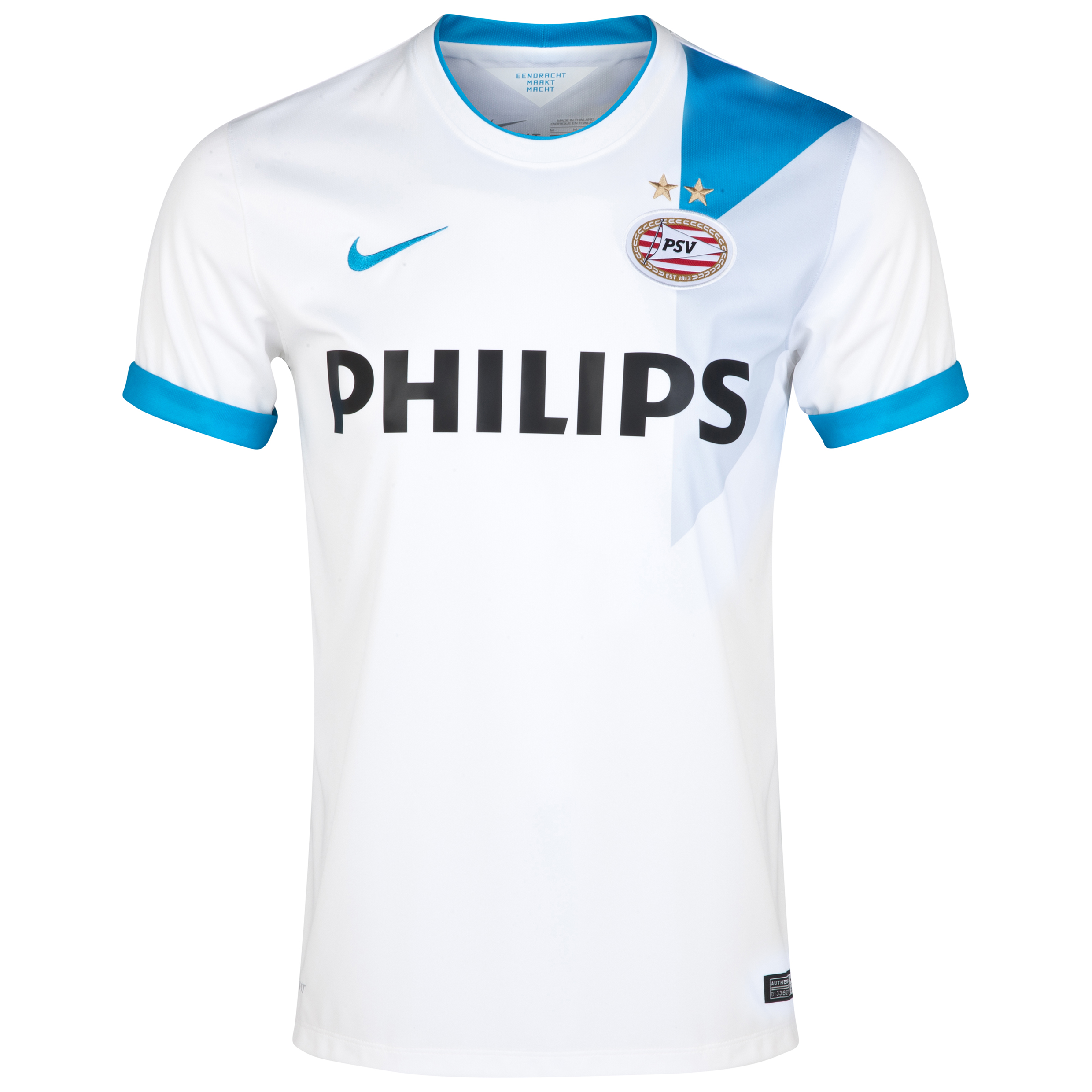 PSV Away Shirt 2014/15 White