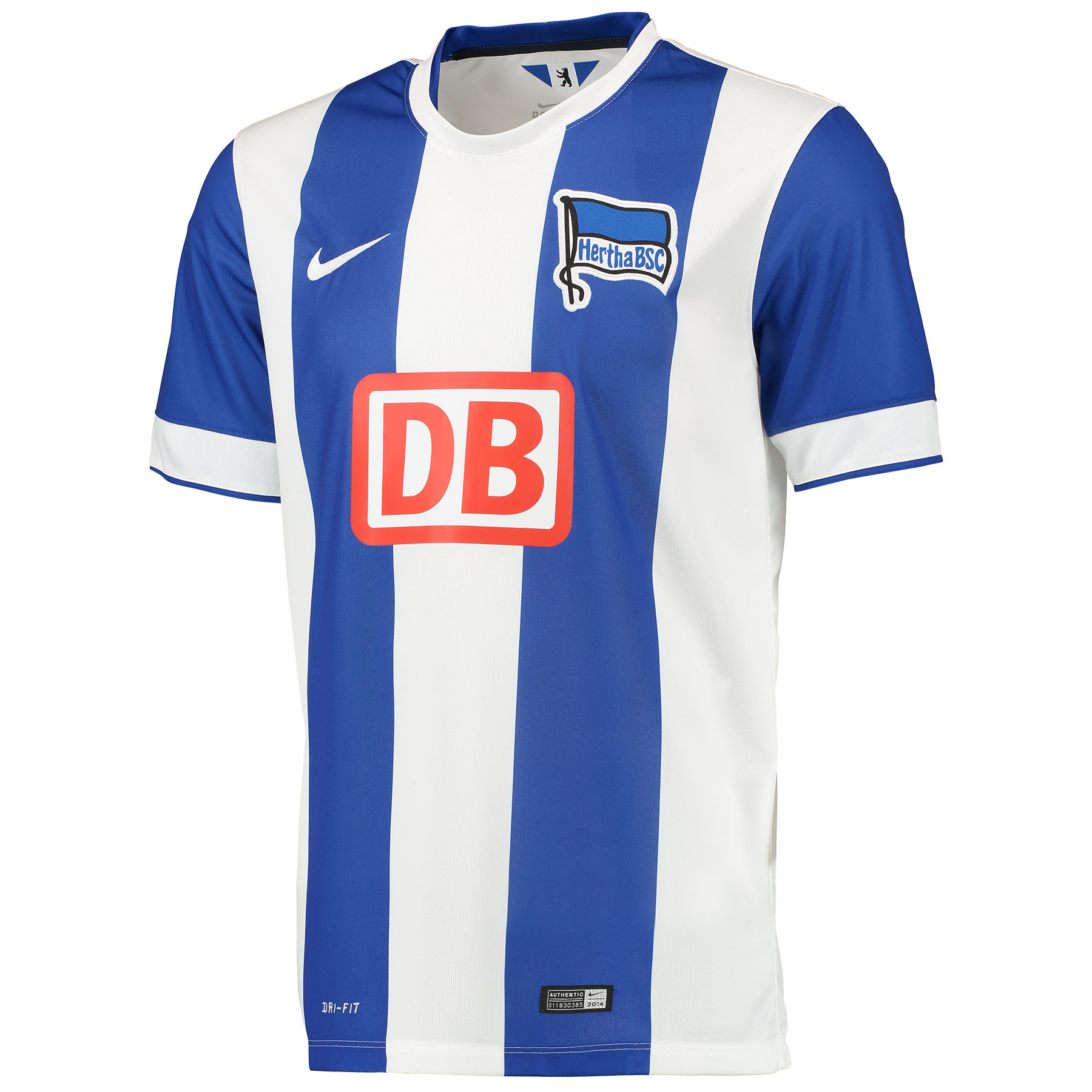 Hertha Berlin Home Shirt 2014/15 Blue