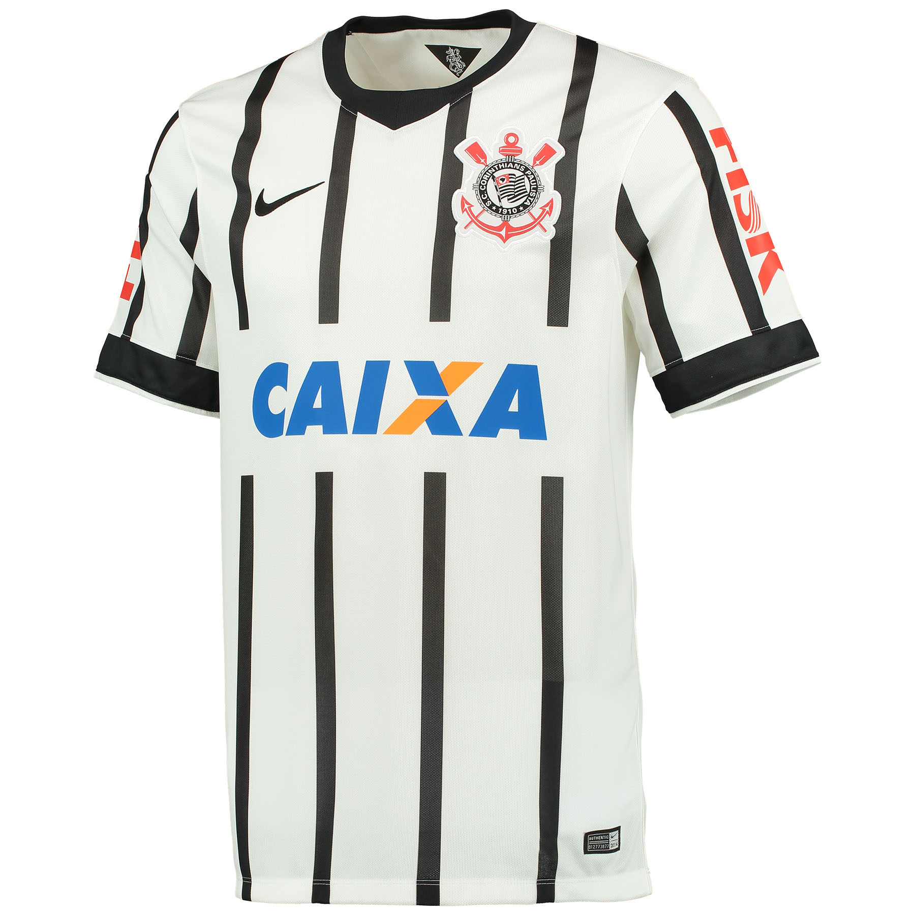 Corinthians Home Shirt 2014/15 White