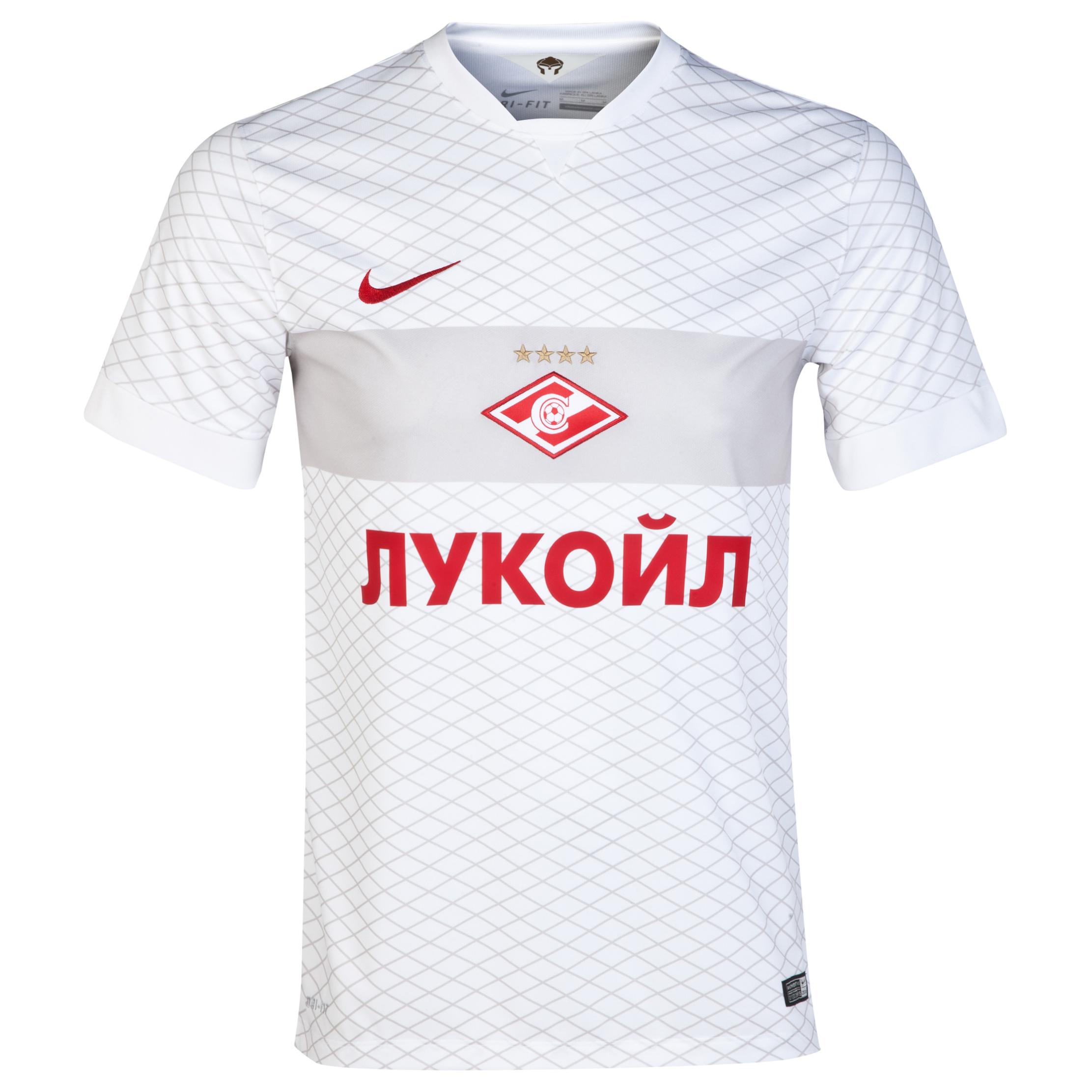 Spartak Moscow Away Shirt 2014/15 White