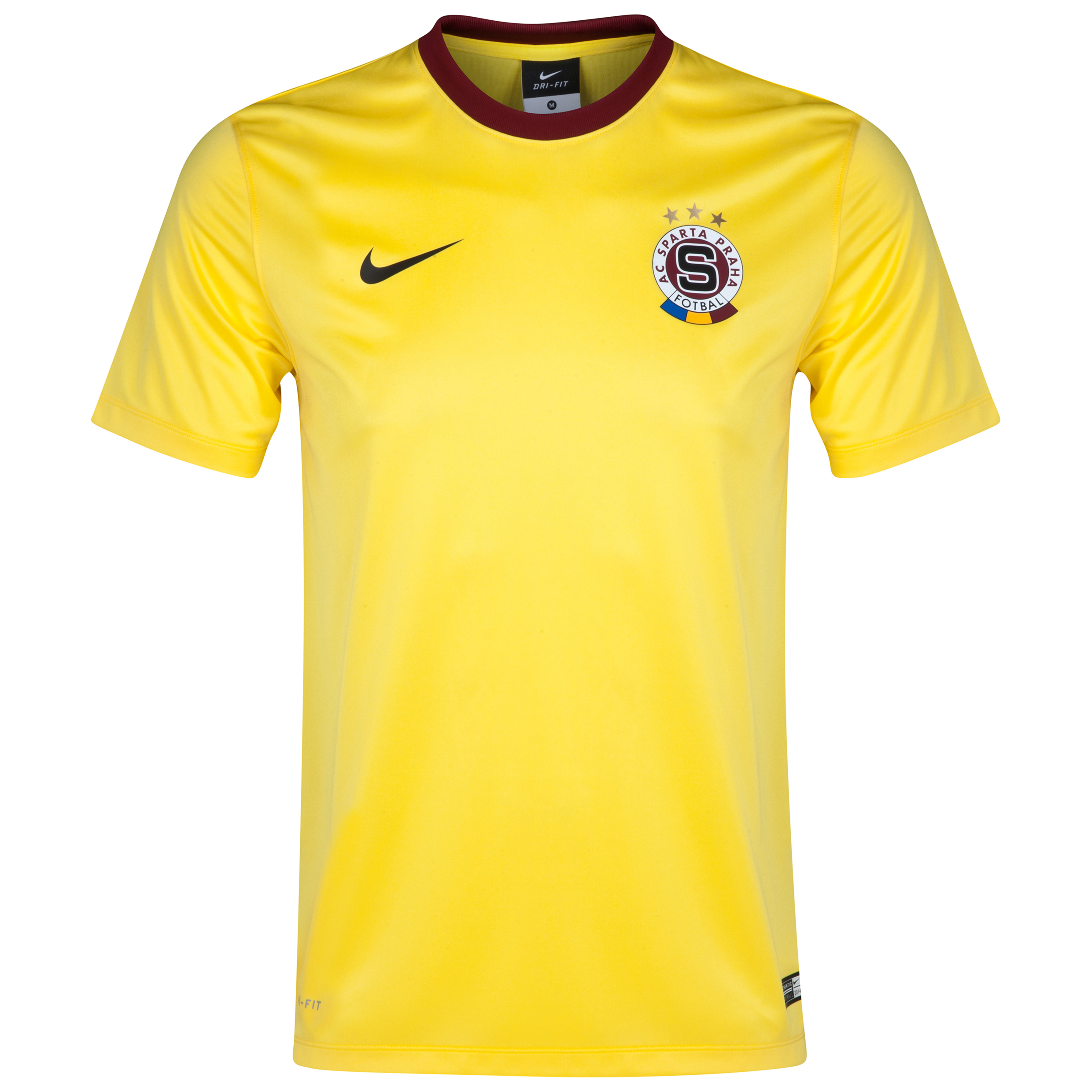 Sparta Prague Away Supporters Shirt 2014/15 Yellow