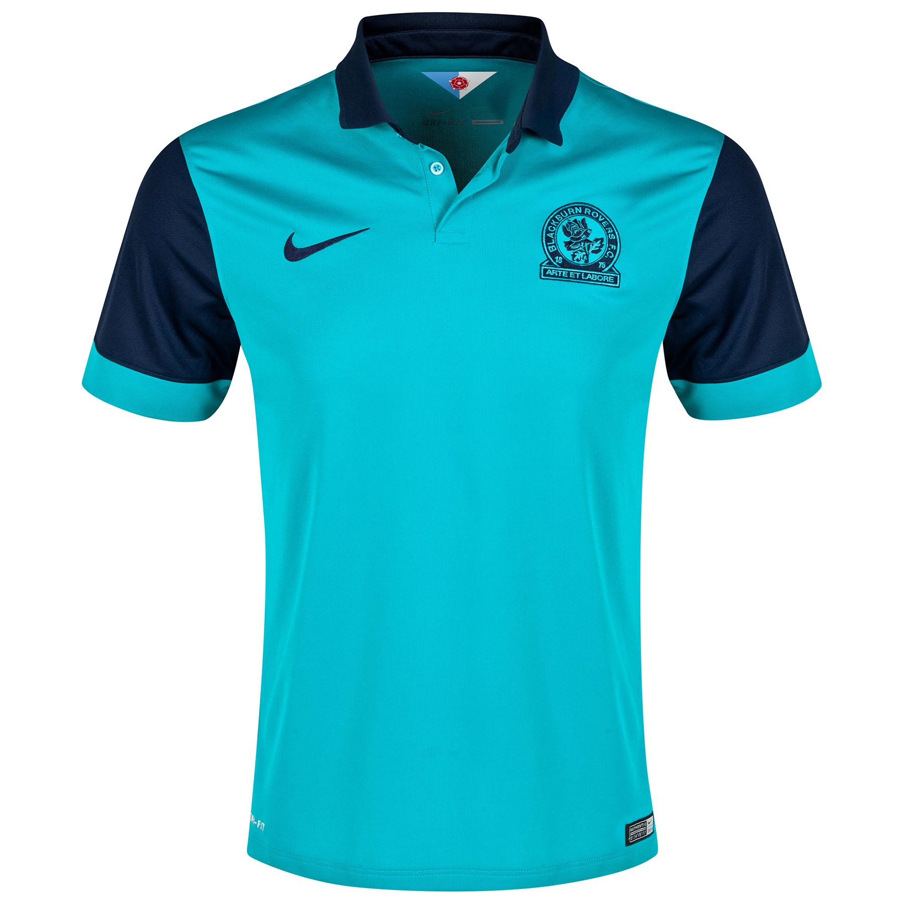 Blackburn Rovers Away Shirt 2014/15 Green