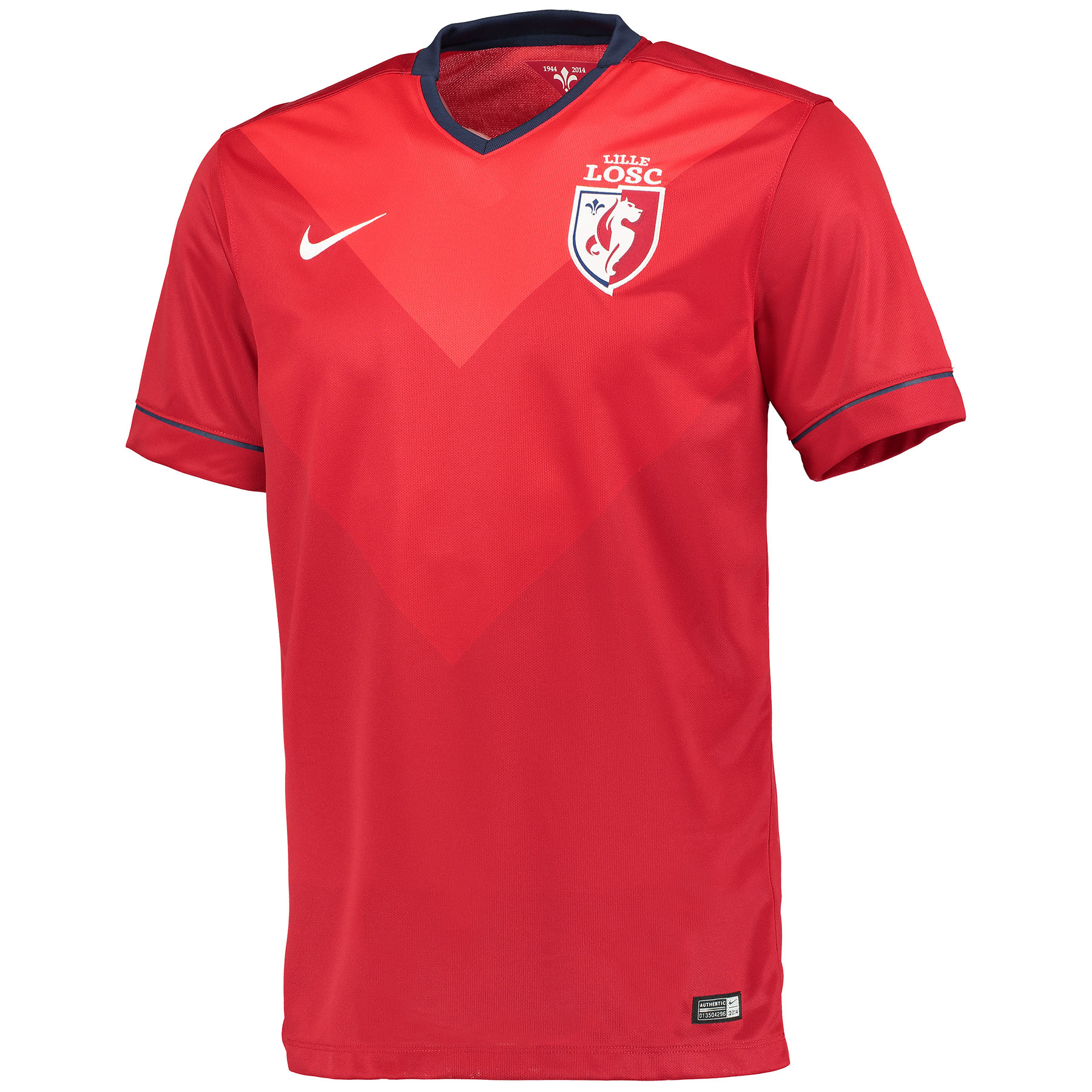 Lille Home Shirt 2014/15 Red