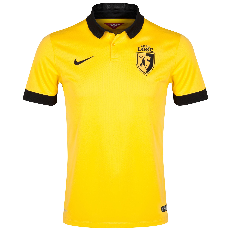 Lille Away Shirt 2014/15 Yellow