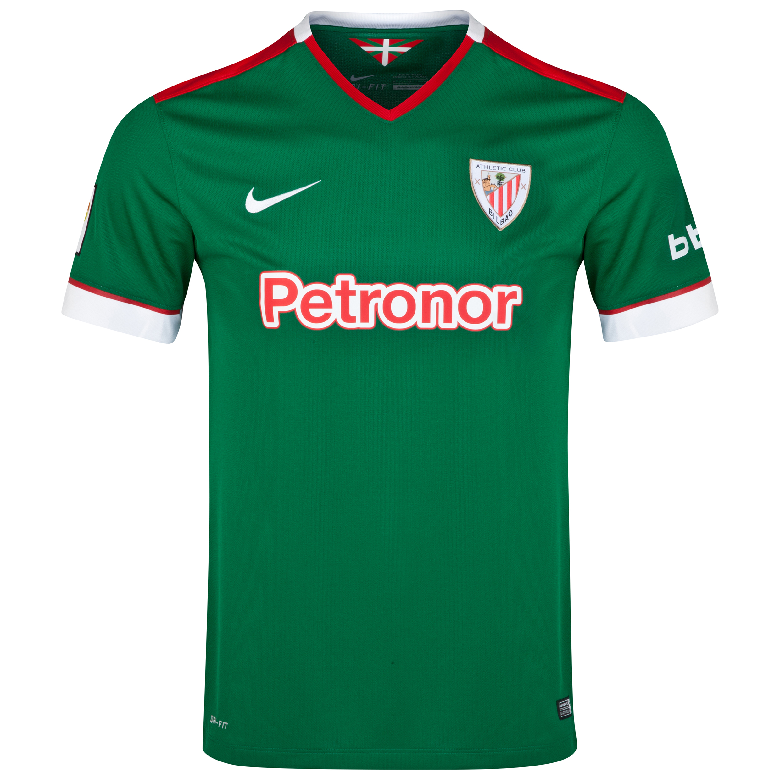 Athletico Bilbao Away Shirt 2014/15 Green