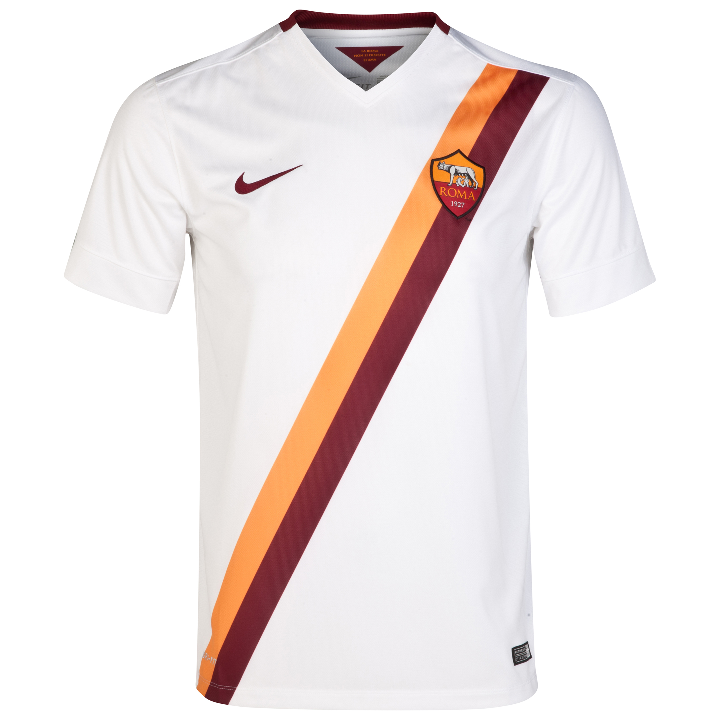 AS Roma Away Shirt 2014/15 White