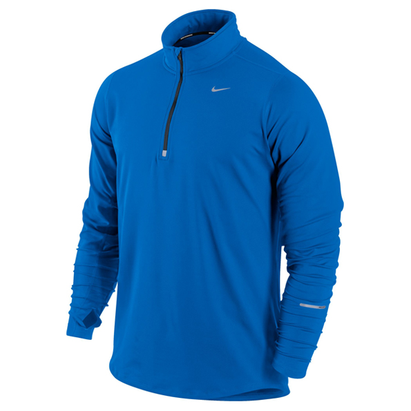 Nike Element 1/2 Zip Top Blue