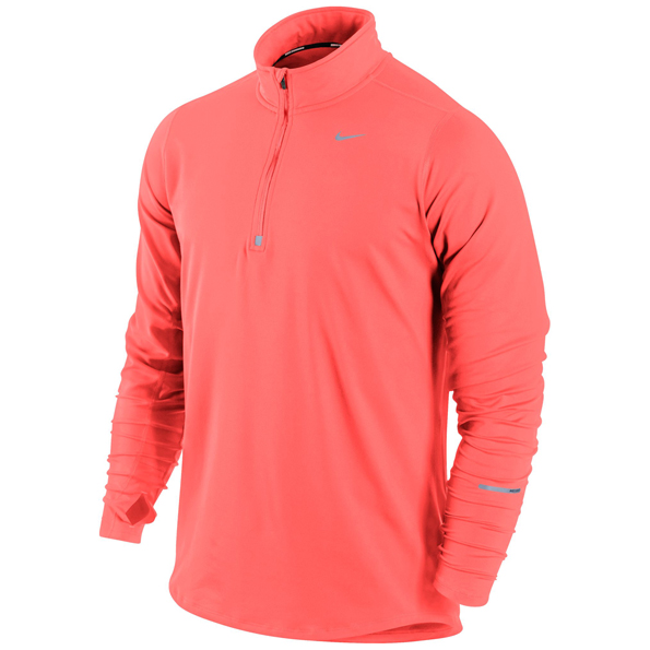 Nike Element 1/2 Zip Top Orange