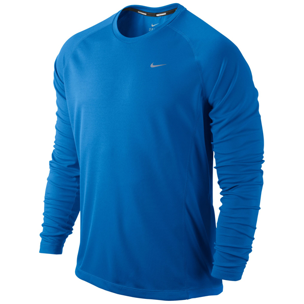 Nike Miler LS UV (Team) Blue