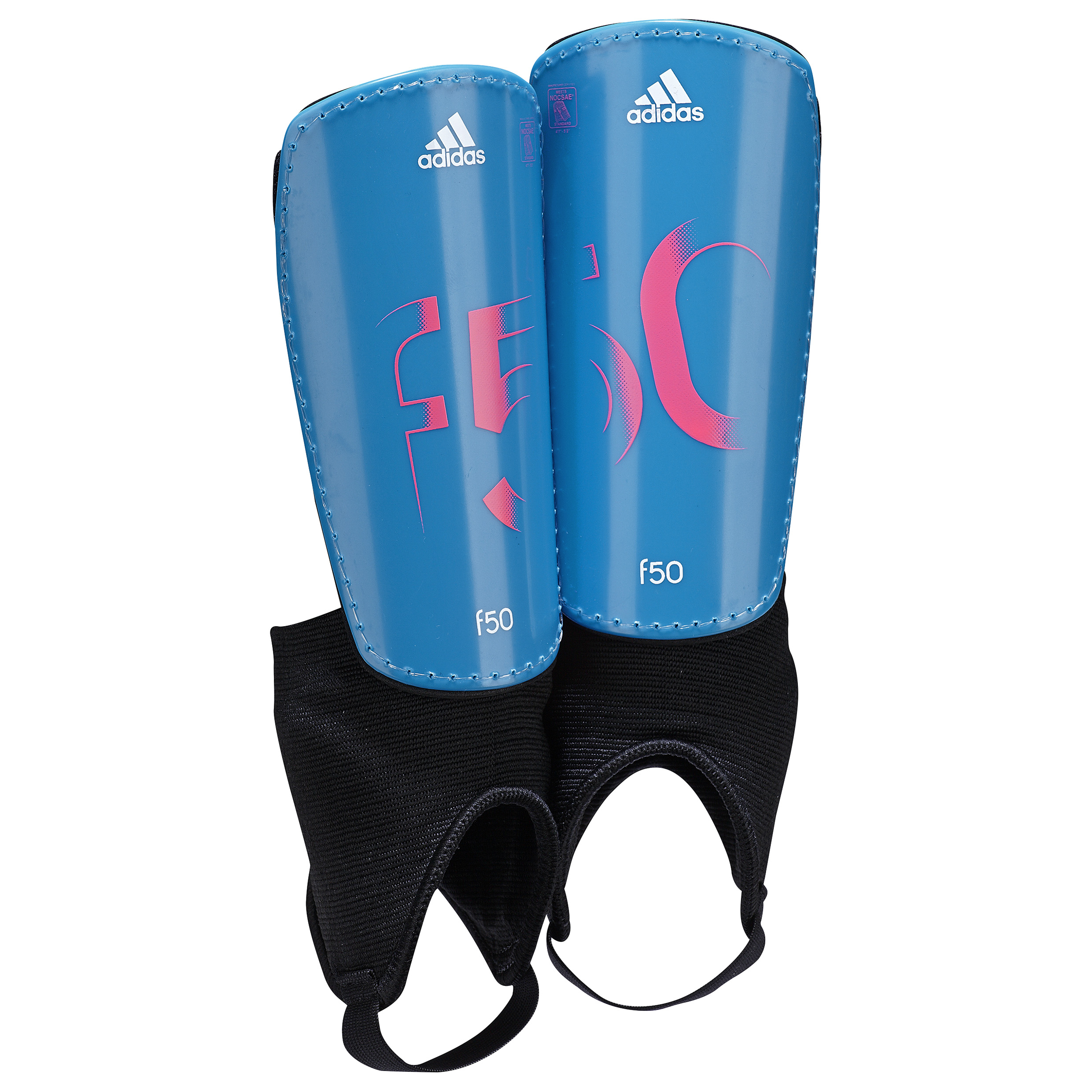 Adidas F50 Shinguards - Kids Sky Blue