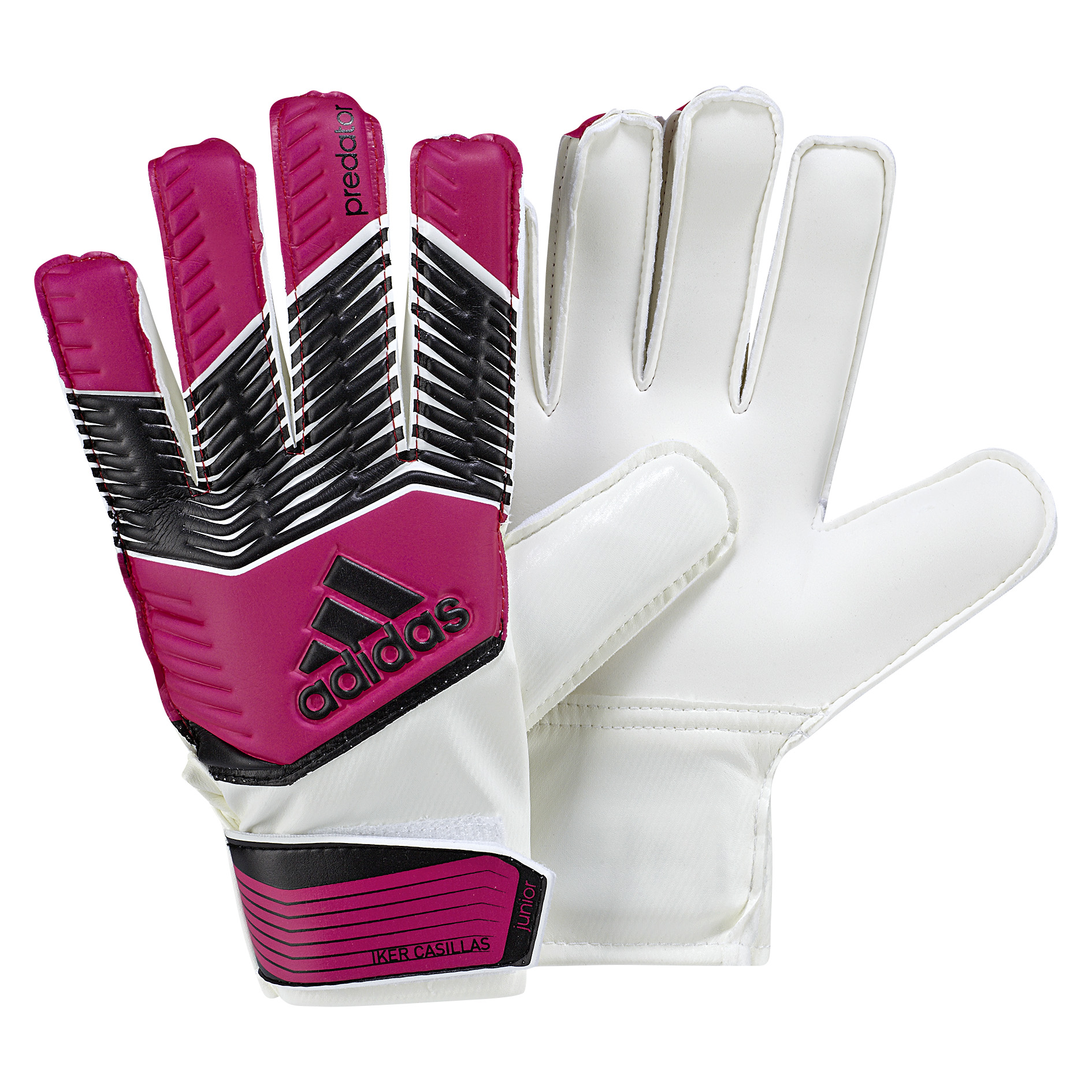 Adidas Predator Iker Casillas Goalkeeper Glove - Kids Pink