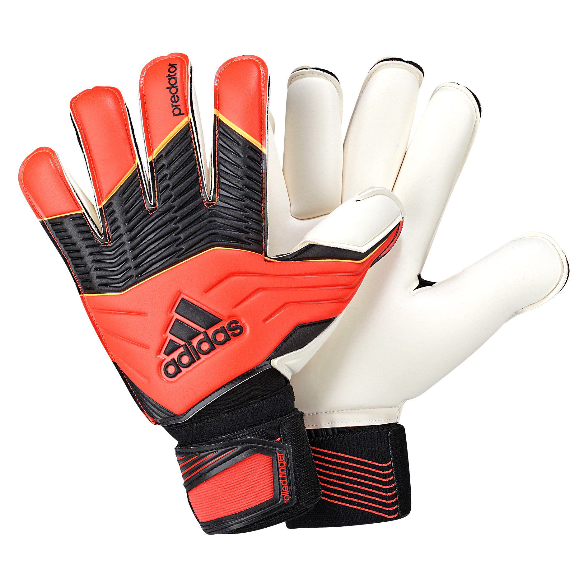 Adidas Predator Roll Finger Goalkeeper Glove Orange
