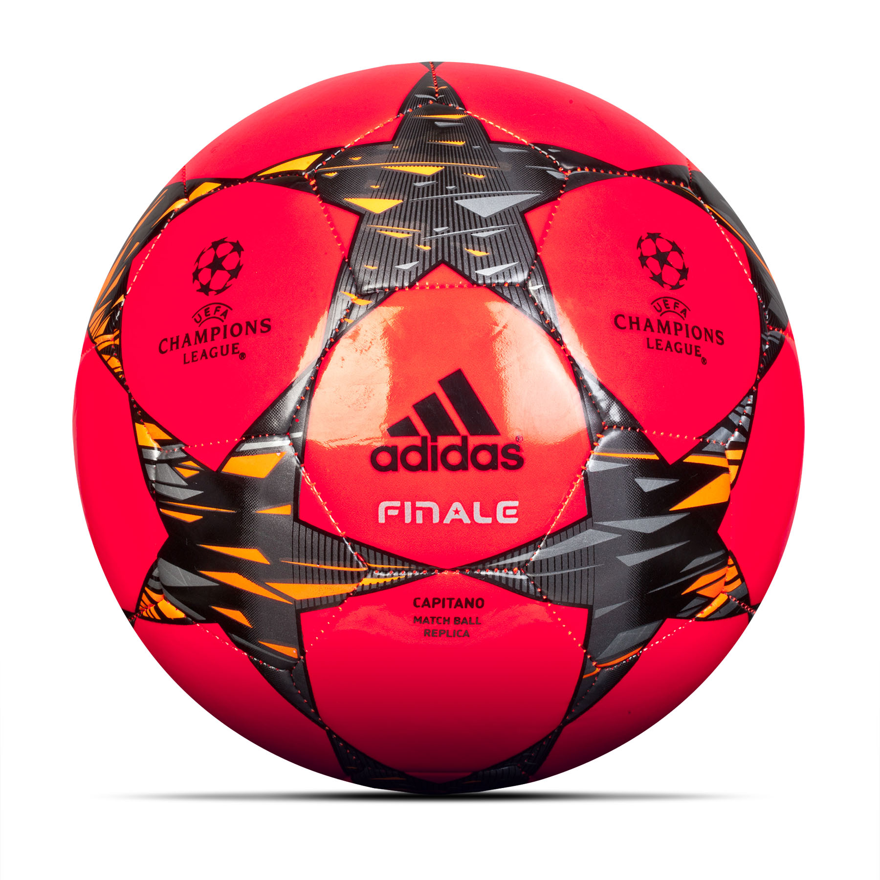Adidas UCL Finale Hi-Viz Ball Orange