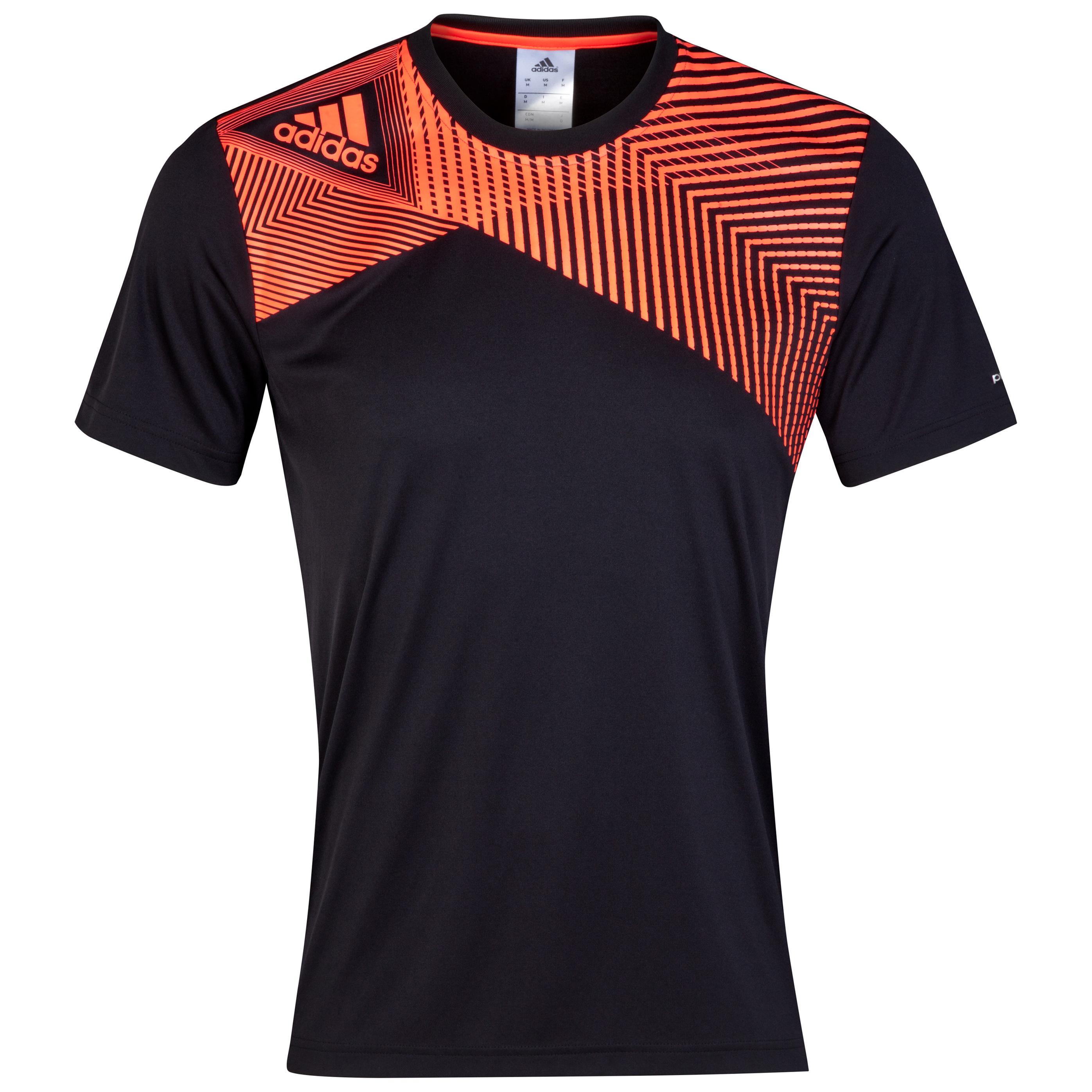 Adidas Predator Poly T-Shirt Black