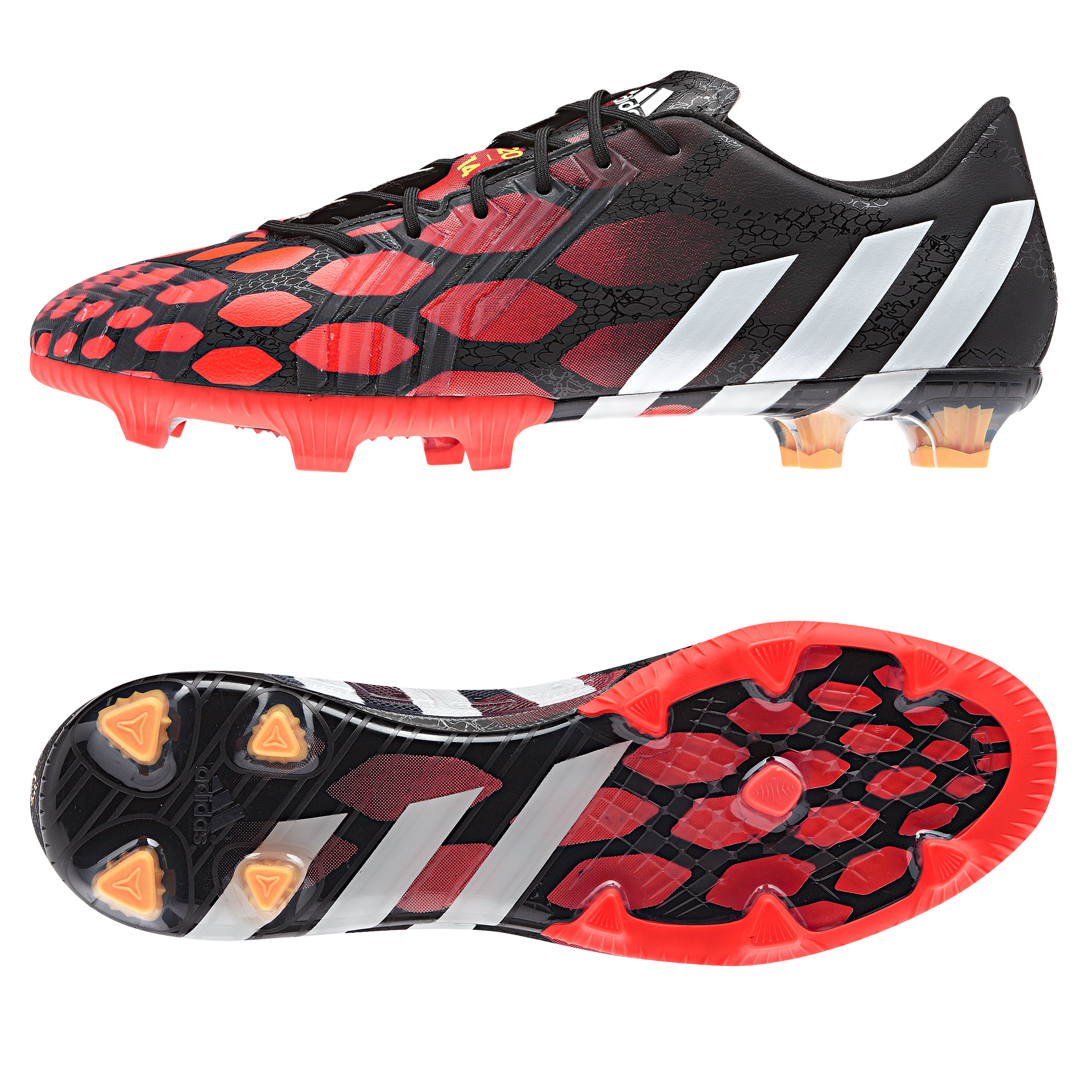 Adidas Predator LZ Firm Ground Football Boots Black