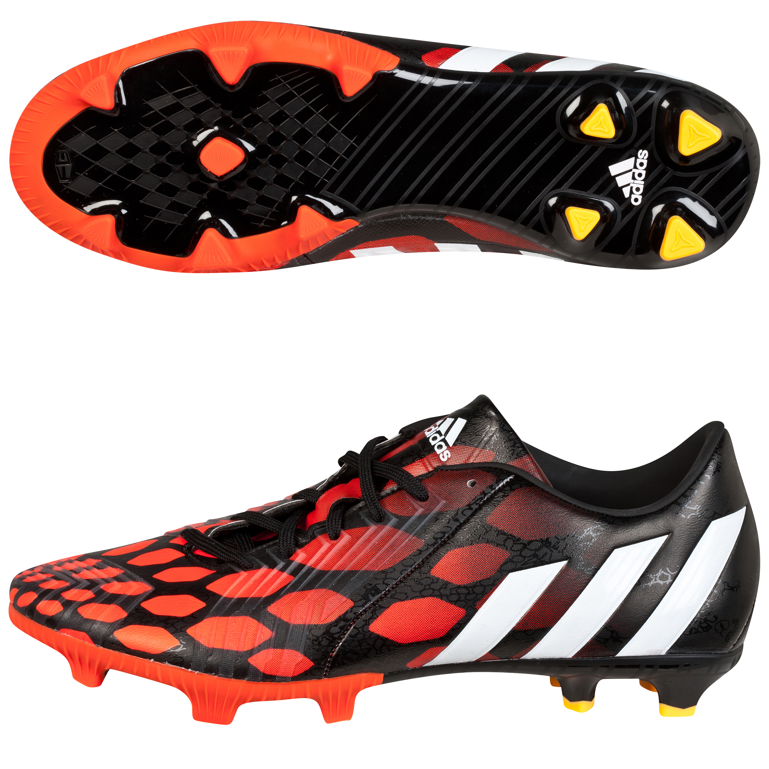 Adidas Predator Absolion LZ Firm Ground Football Boots Black