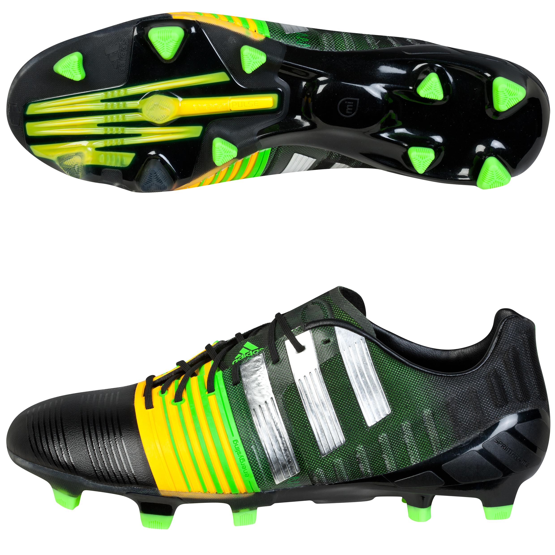 Adidas Nitrocharge 1.0 Firm Ground Football Boots Black