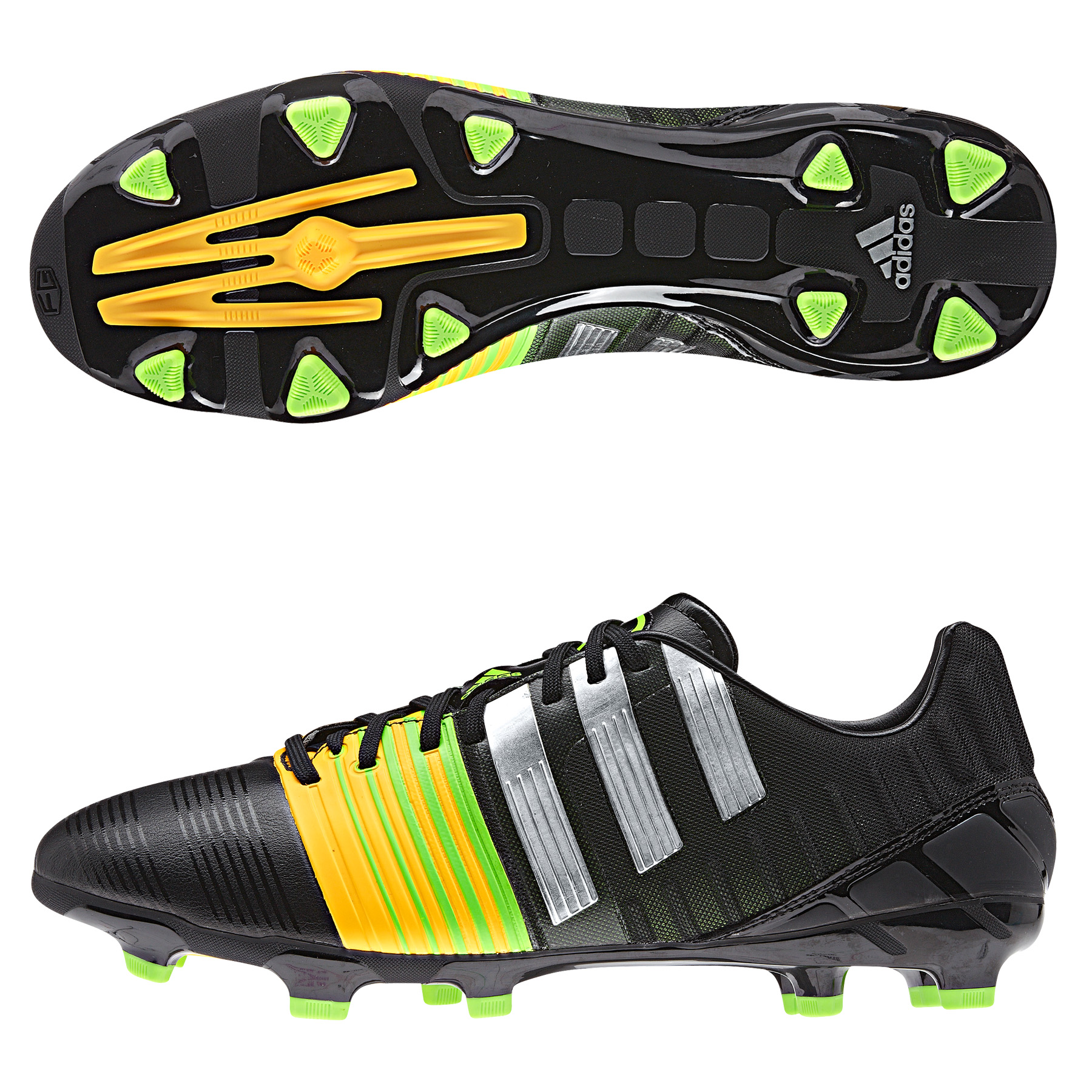 Adidas Nitrocharge 2.0 Firm Ground Black