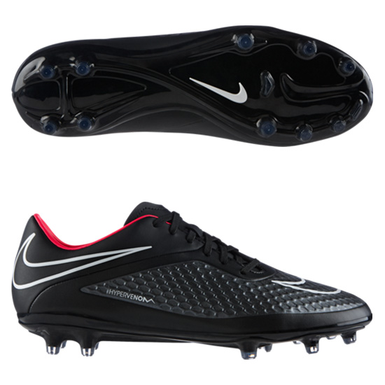 Nike Hypervenom Phelon Firm Ground Football Boot Black